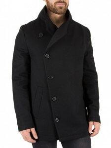 Religion Black Overcoat