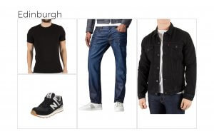 Edinburgh's favourite outfit