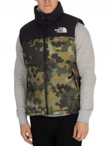 THE NORTH FACE CAMO 1996 NUPTSE GILET