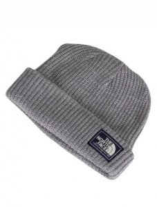 THE NORTH FACE GREY SALTY DOG BEANIE