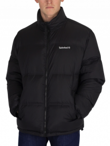 TIMBERLAND BLACK DOWN PUFFER JACKET
