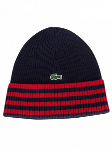 Lacoste Striped Blue Hat