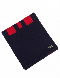 Lacoste Blue Red Mens Scarf