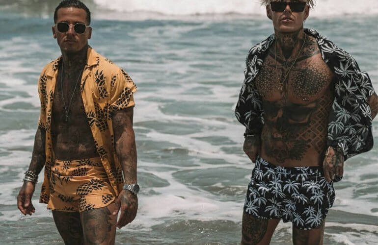 The top men's swimwear trends for 2020