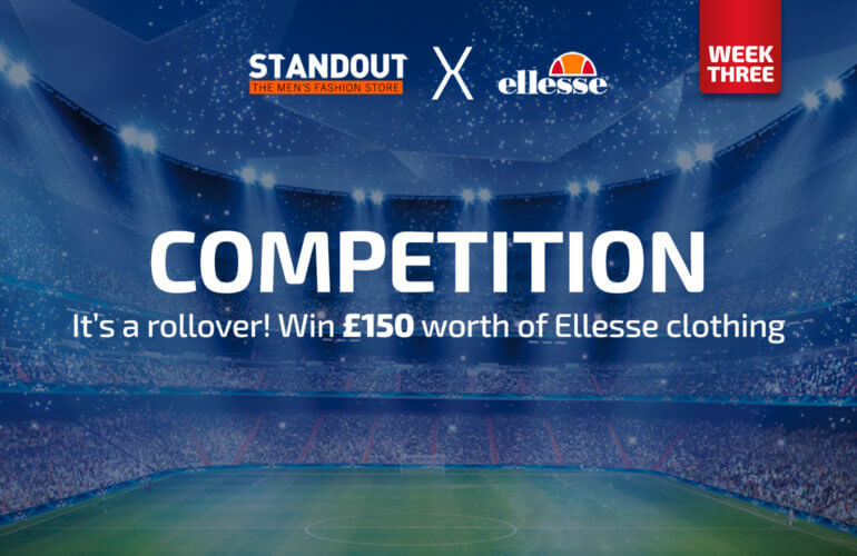 #StandoutxEllesse Giveaway: Win £150 worth of Ellesse clothing
