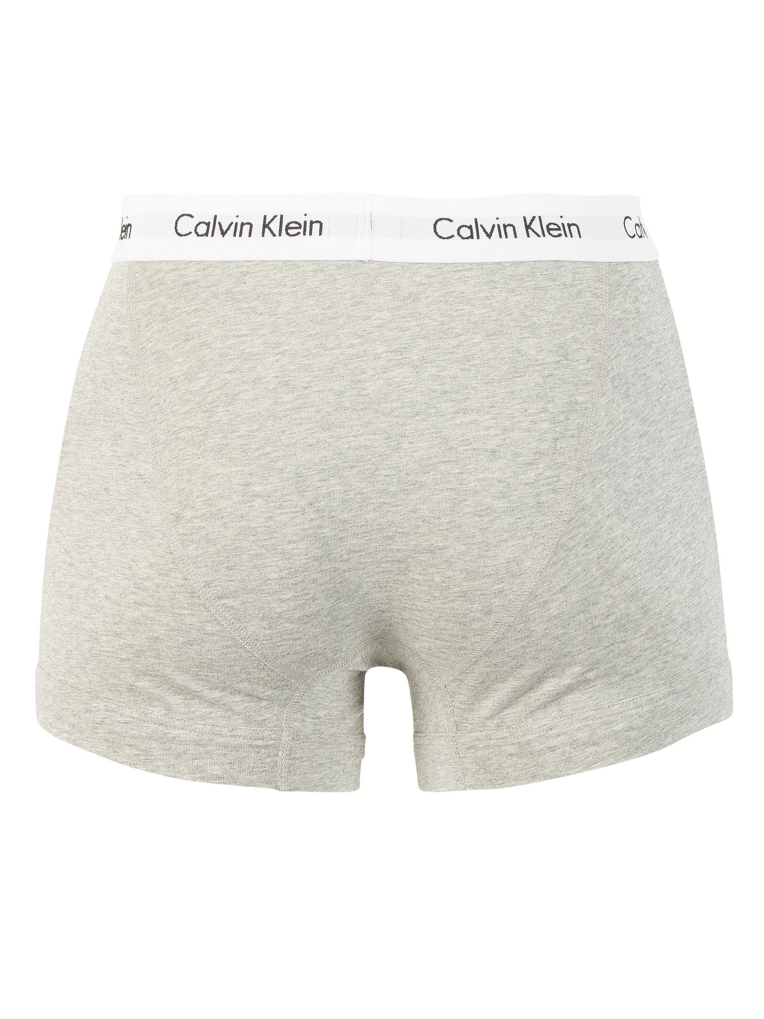 Calvin Klein Grey/White/Black 3 Pack Trunks
