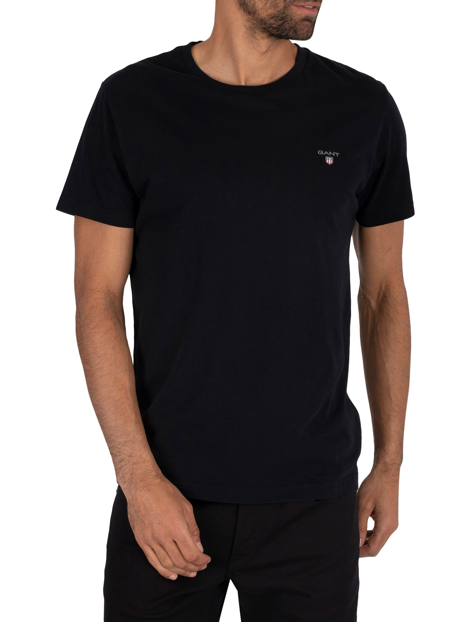 Plain Crew Neck T-Shirt
