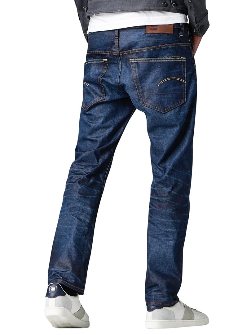 G-Star 3301 Straight Hydrite Denim Jeans - Dark Aged