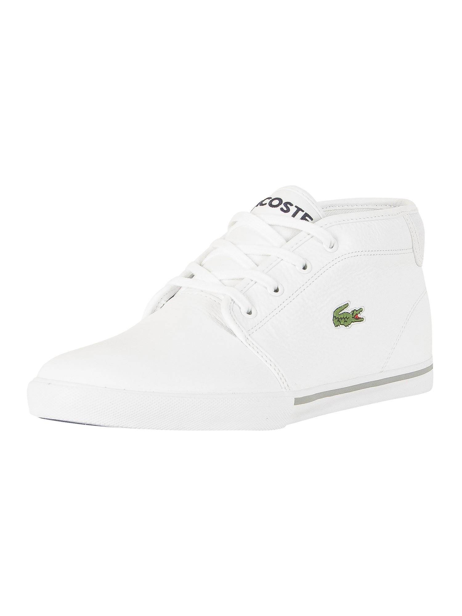 kup dobrze obuwie różne wzornictwo Lacoste Ampthill LCR3 SPM Trainers - White/White