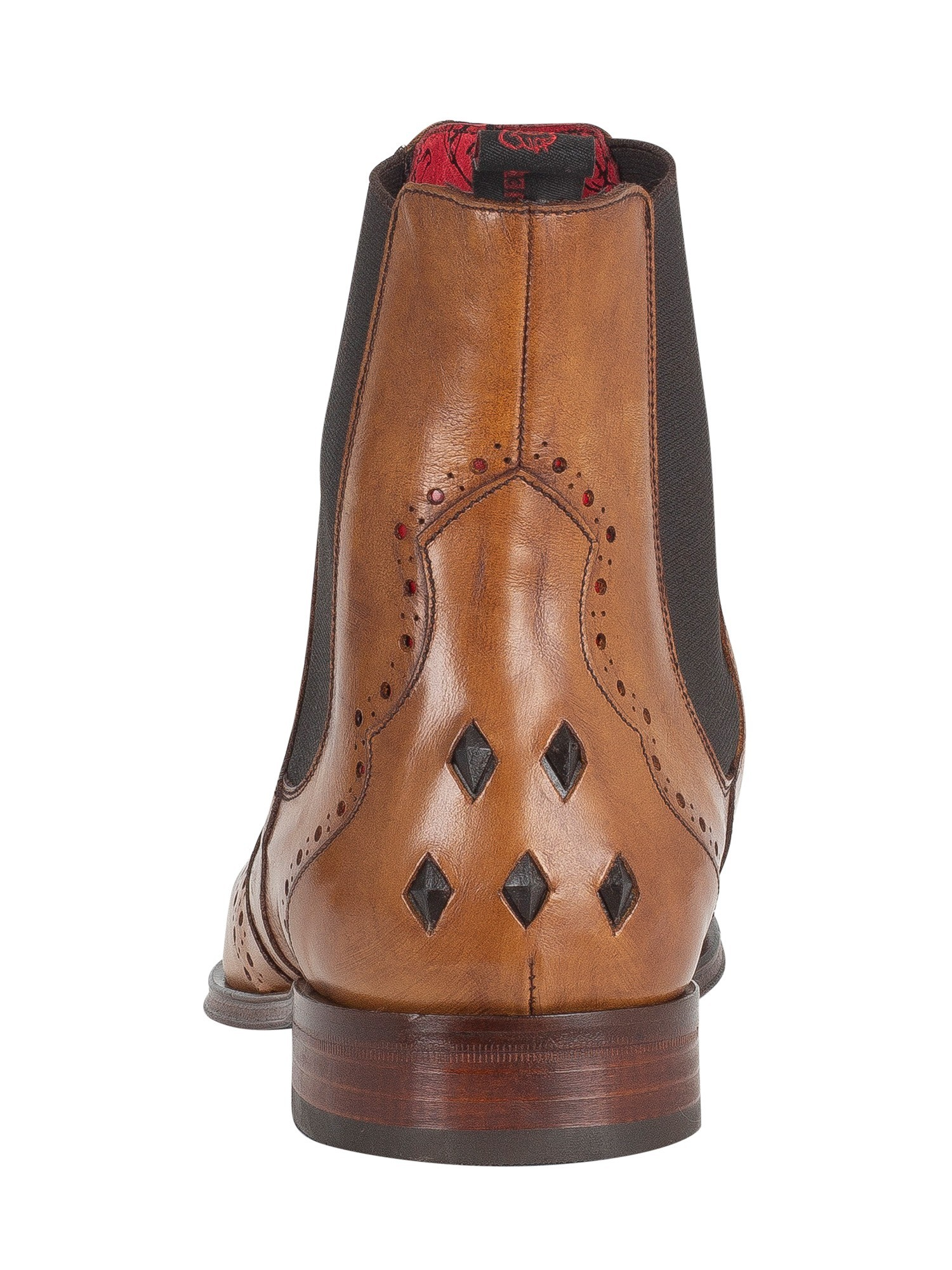 Jeffery West Scarface Boots - Lavato Tan/Charcoal Red