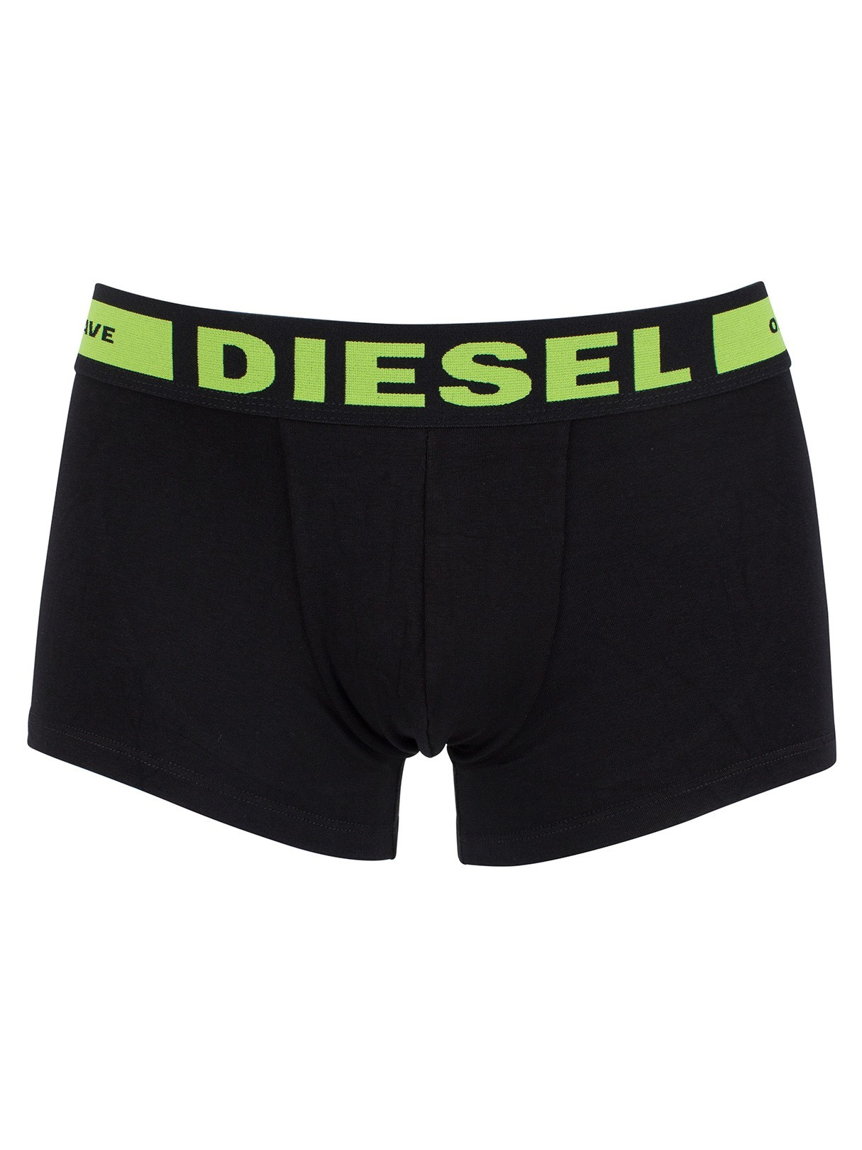 Diesel 3 Pack Seasonal Boxer Logo Trunks - Black