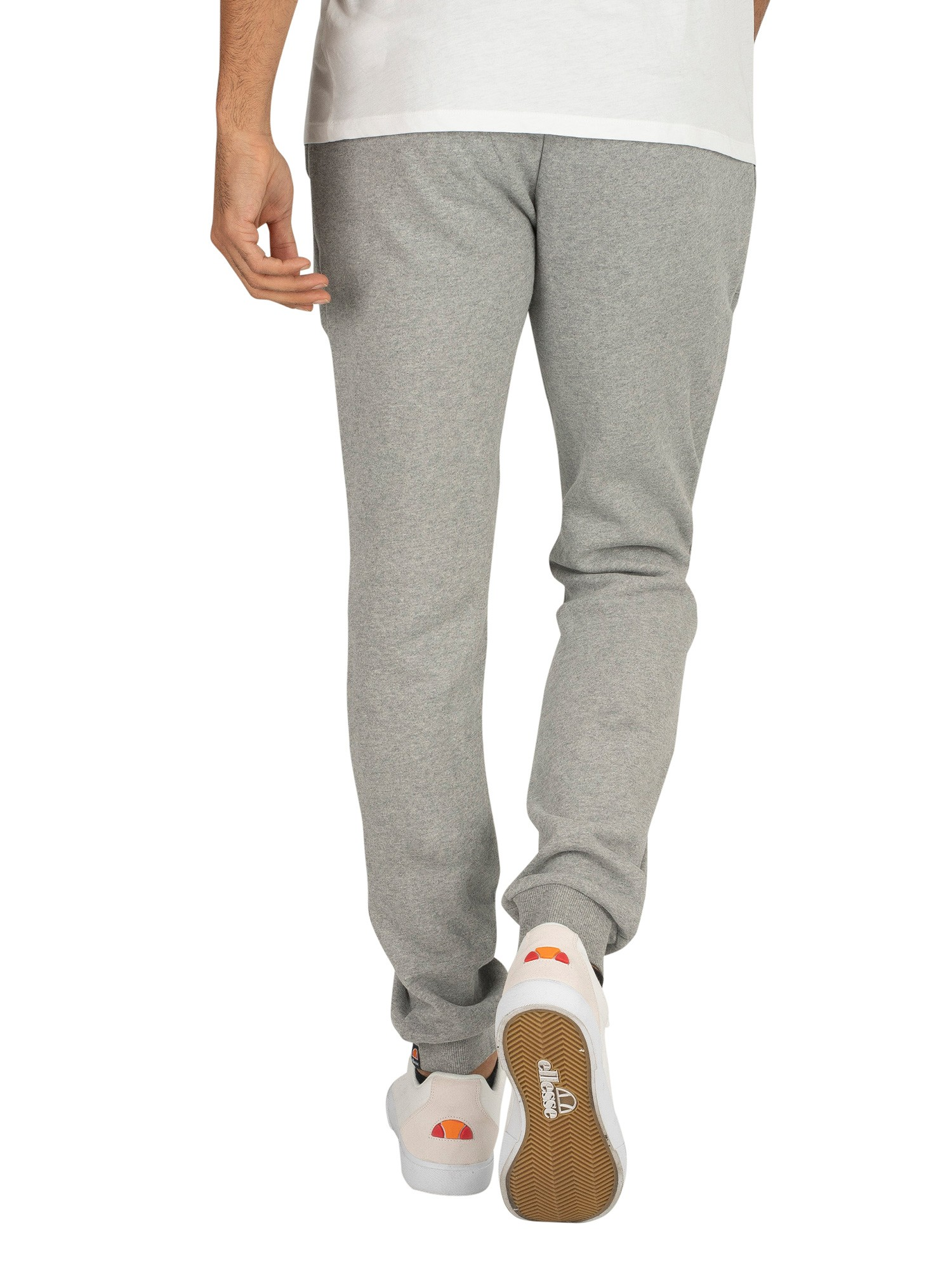 Ellesse Athletic Grey Marl Ovest Logo Joggers