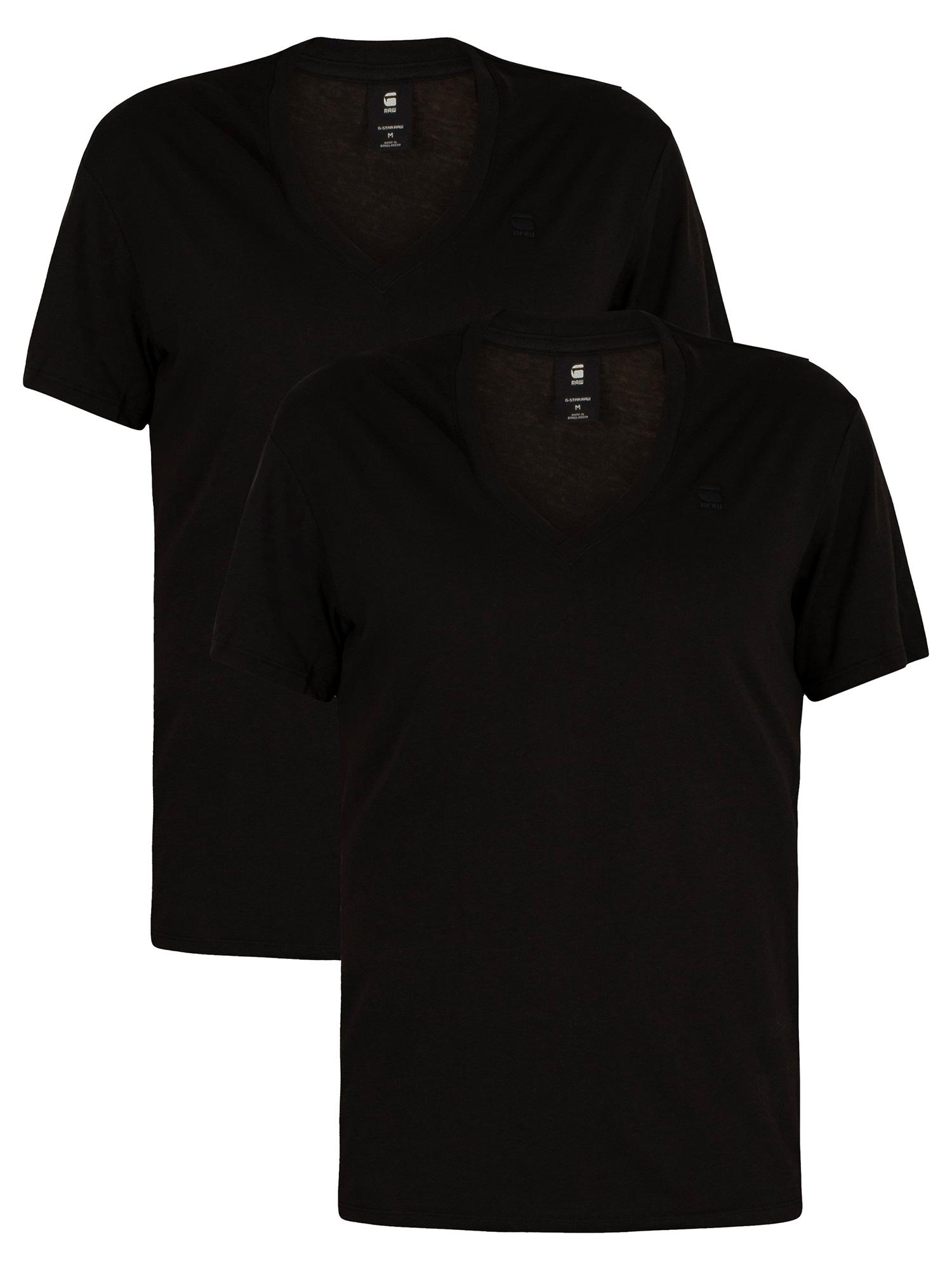 2-Pack-VNeck-Logo-TShirts
