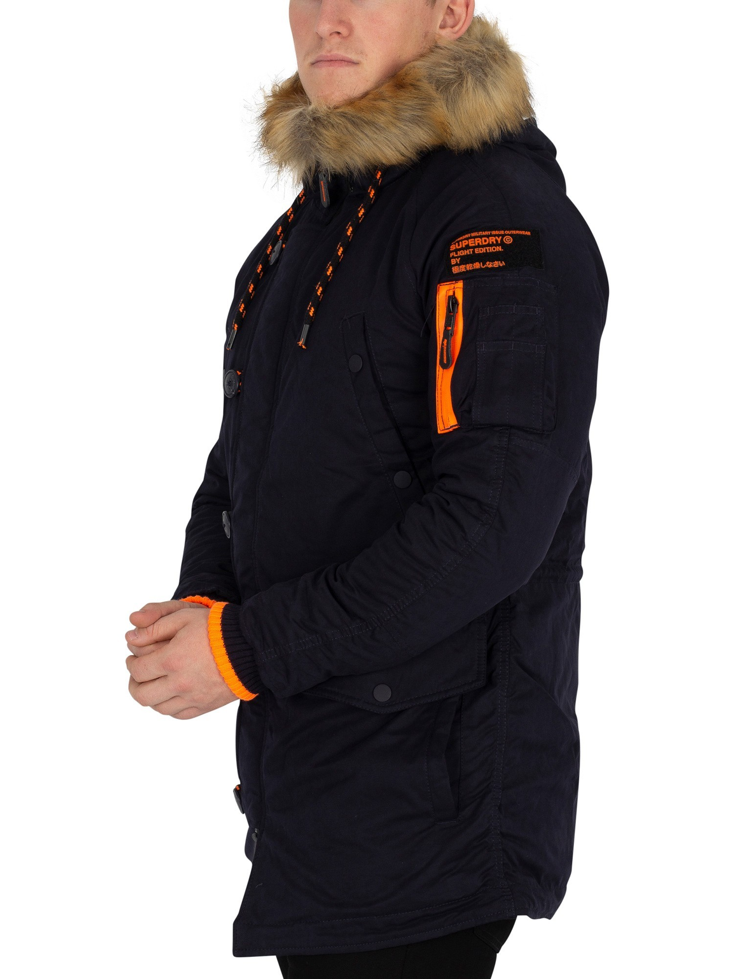 Parka Super Mens Coat Superdry Sd Dark 3 Jacket LSzMqGUVp