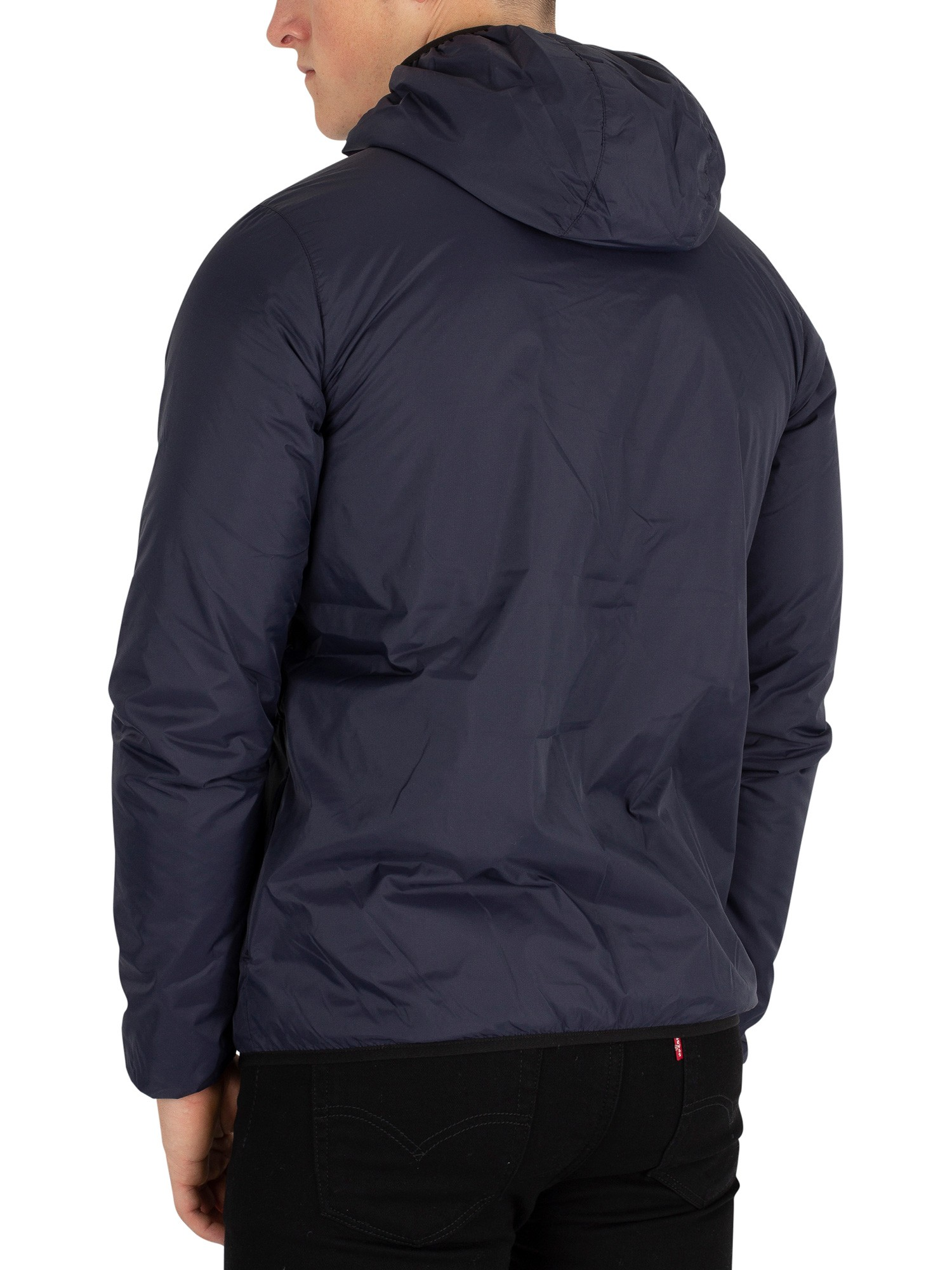 K-Way Le Vrai 3.0 Claude L.W Jacket - Blue Depht