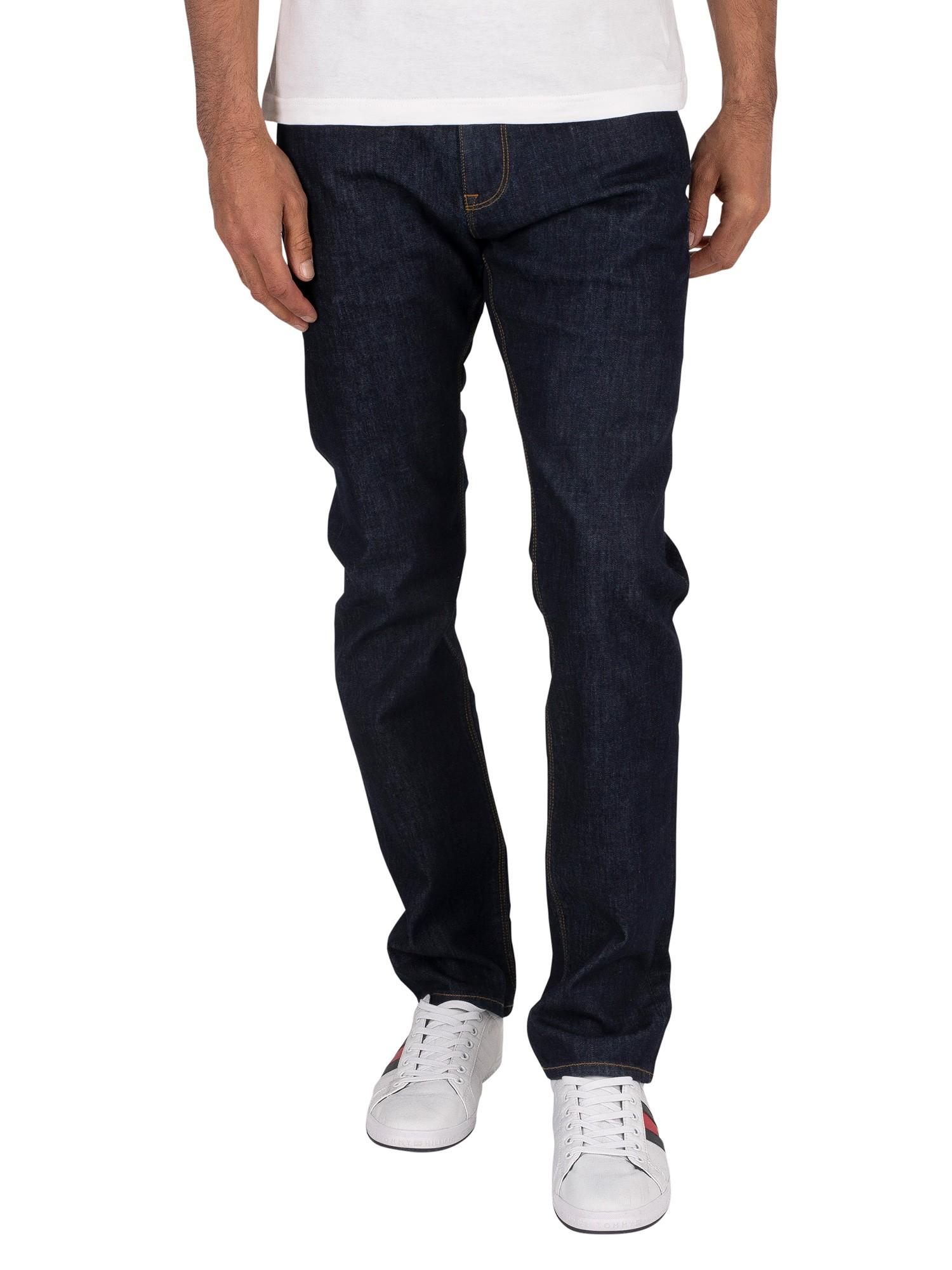 Tommy Hilfiger Core Bleecker Slim Fit Jeans 32W x 32L Washed Black