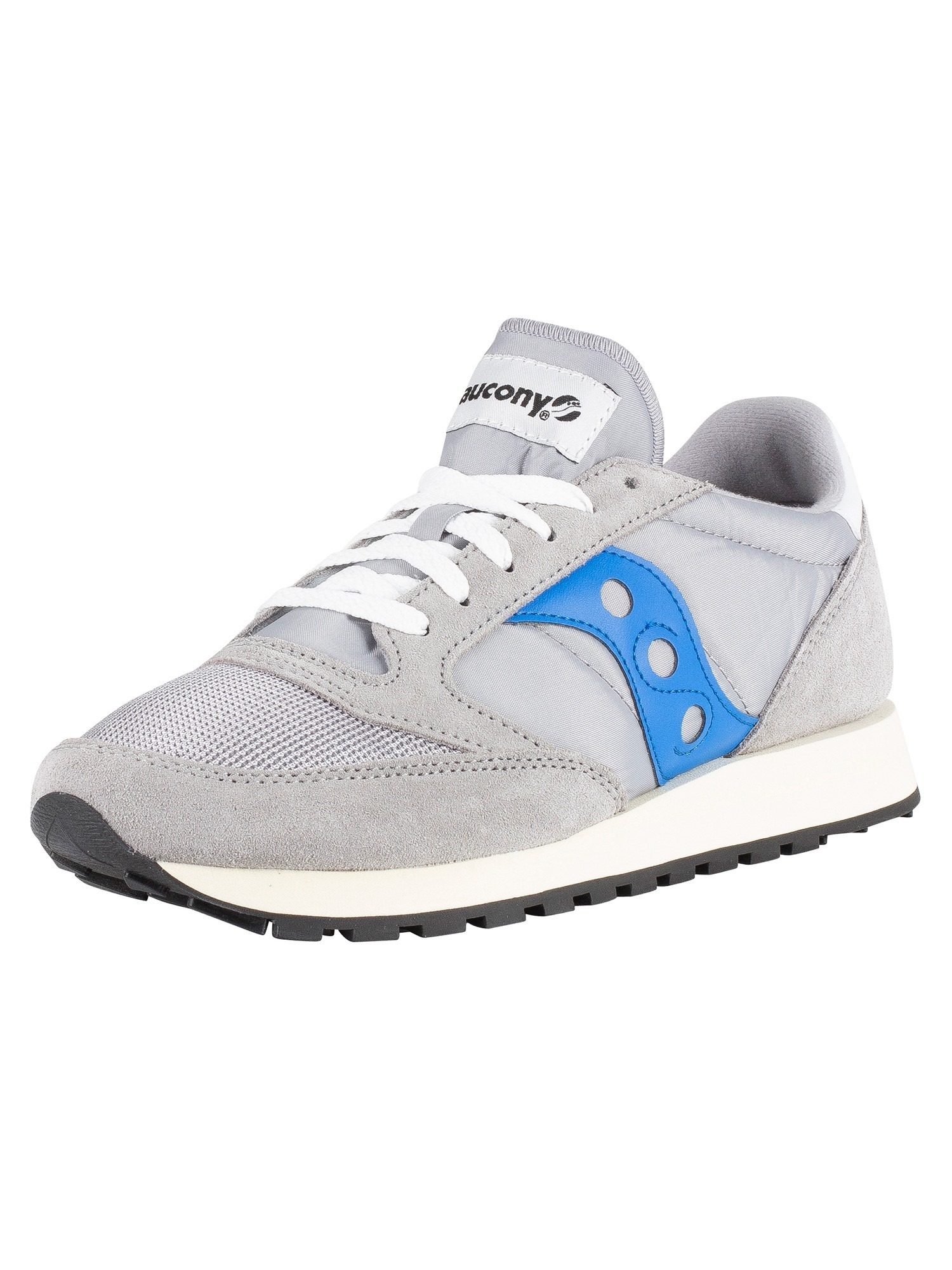 separation shoes 3a127 6887b Saucony Jazz Original Vintage Trainers - Grey Blue