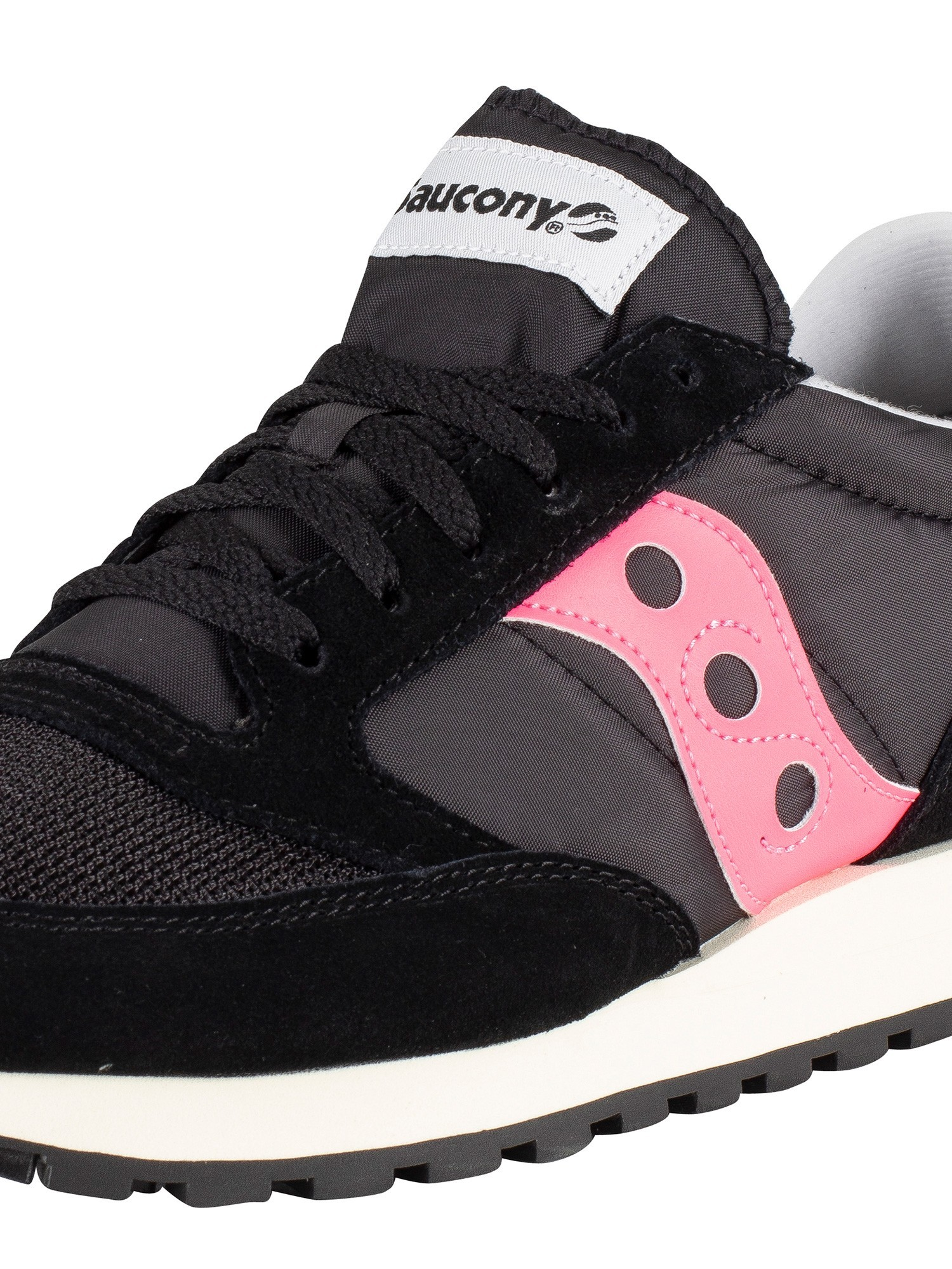 competitive price 9aa2e 569b4 Saucony Jazz Original Vintage Trainers - Black/Pink