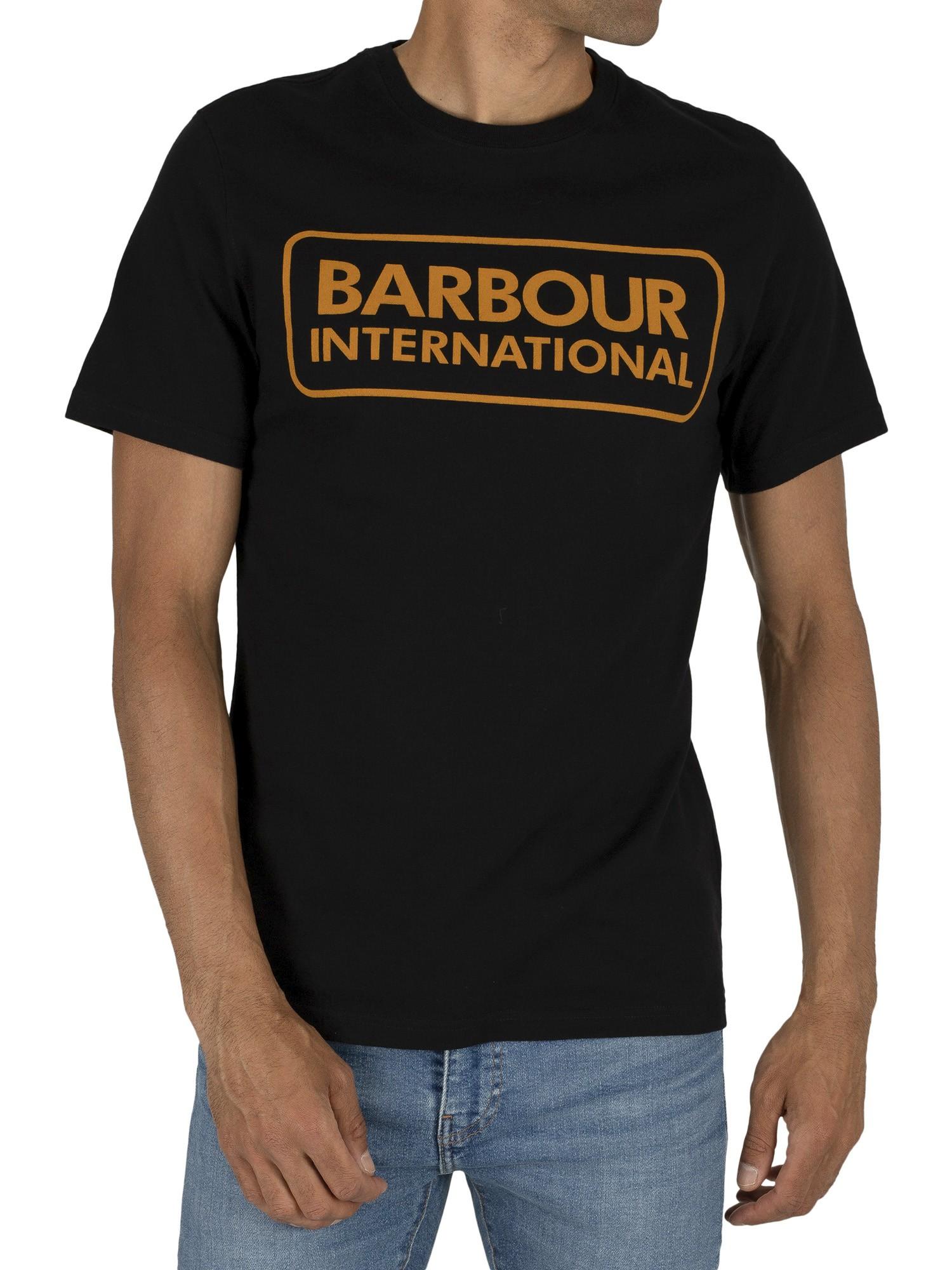 Barbour Essential Large Logo Black