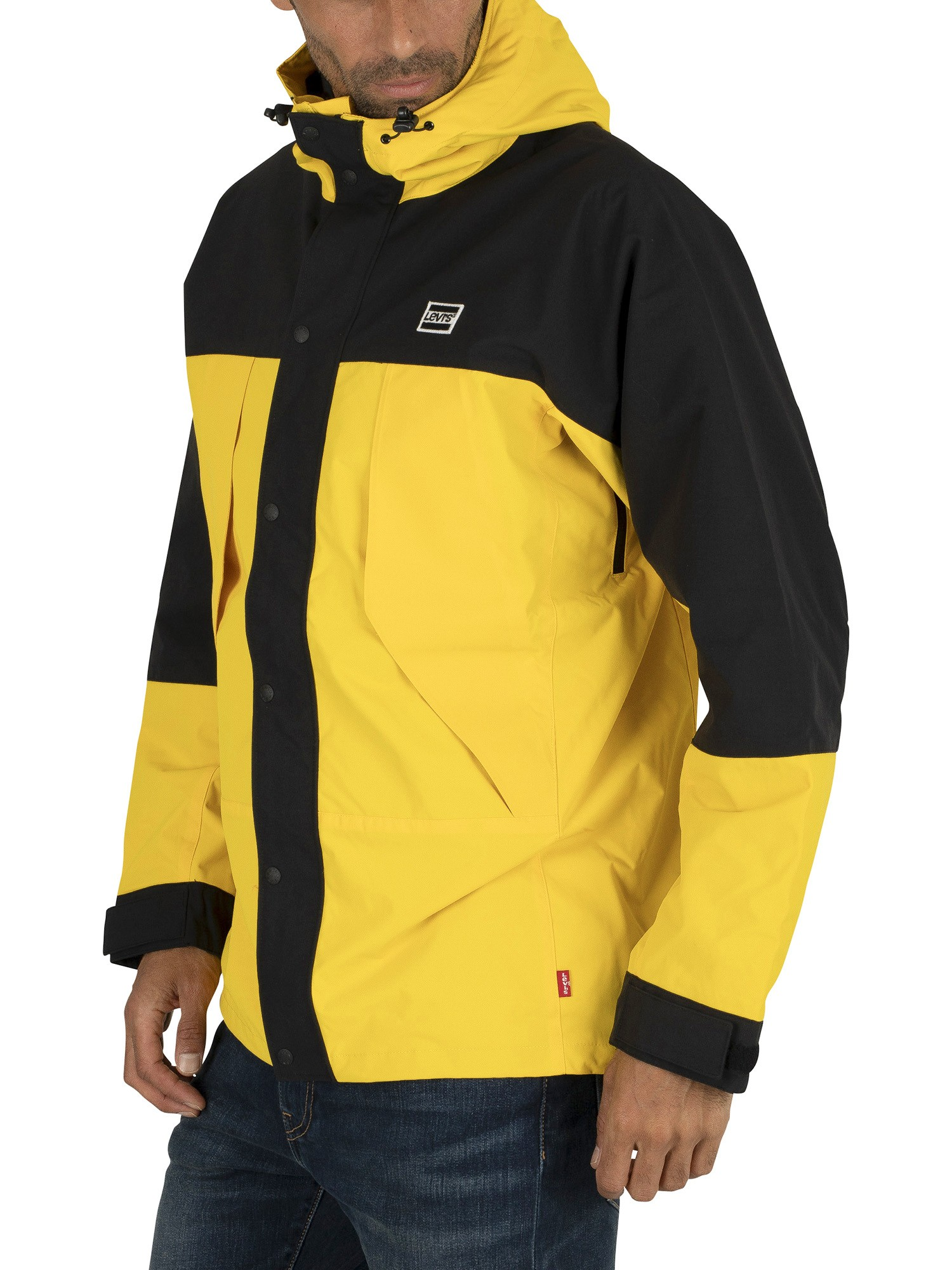 Levi's Lightweight Sport Parka Jacket - Lemon