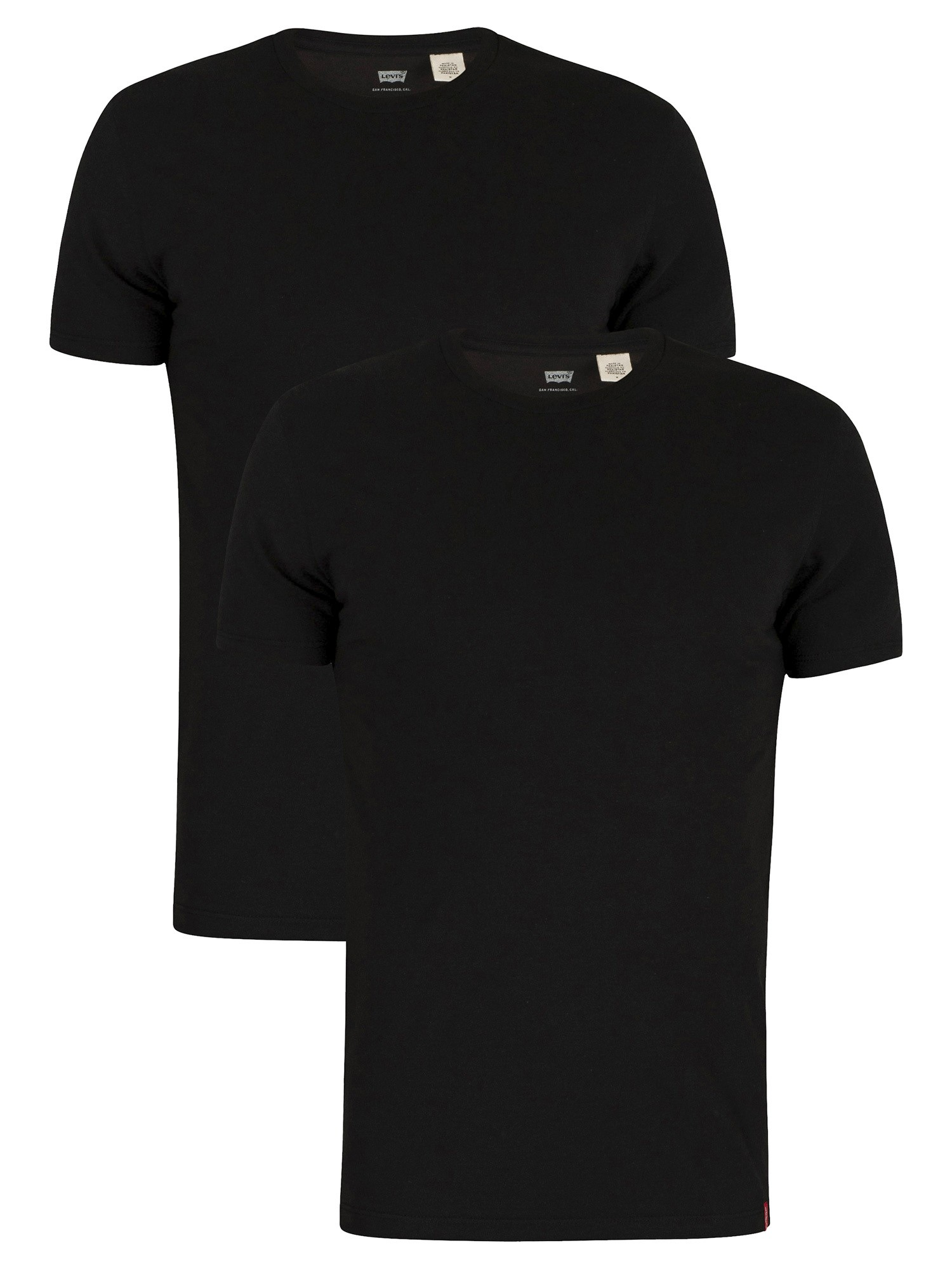 Slim 2 Pack Crew T-Shirts