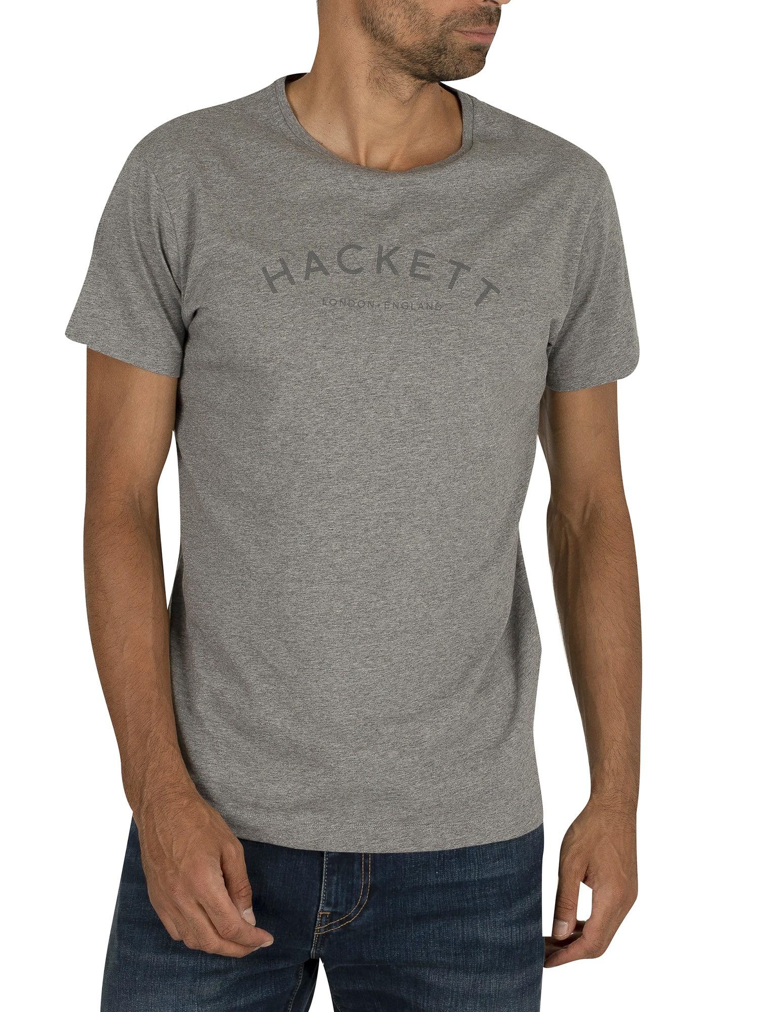 Hackett London Men/'s Classic Logo T-Shirt Blue
