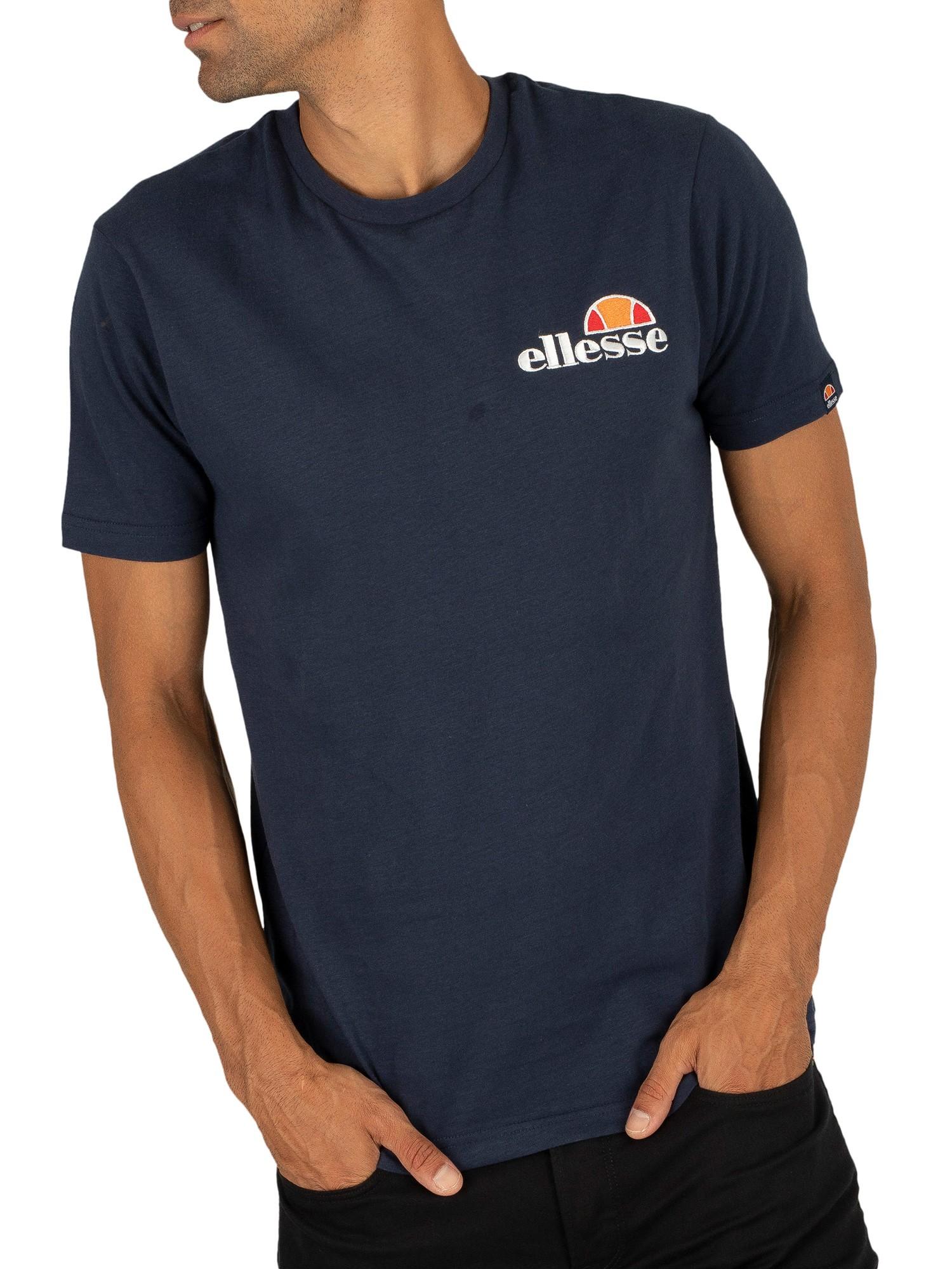 Ellesse Voodoo Navy T-shirt en coton