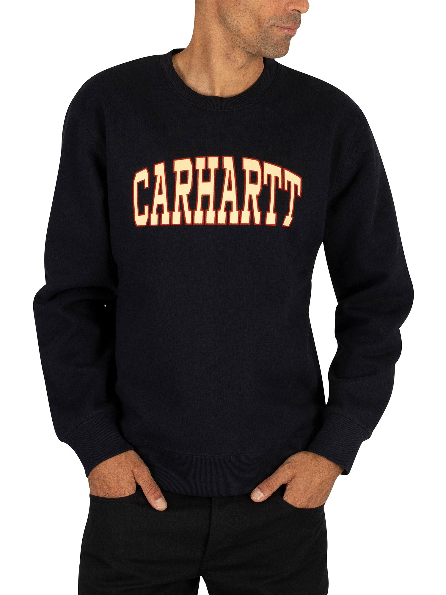 detailed look how to buy clearance sale Carhartt WIP Theory Sweatshirt - Dark Navy