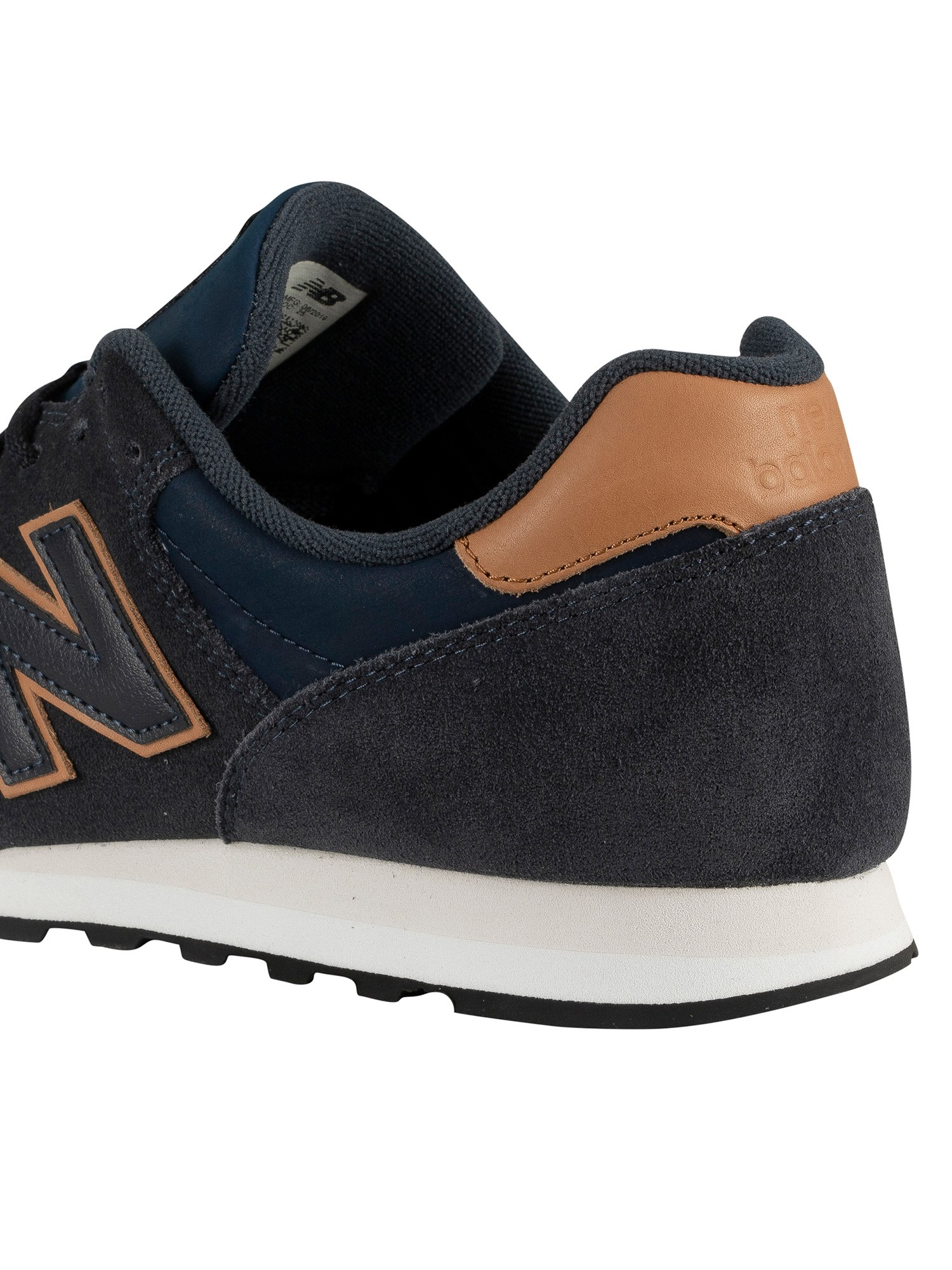 timeless design ec404 a5185 New Balance 373 Suede Trainers - Navy