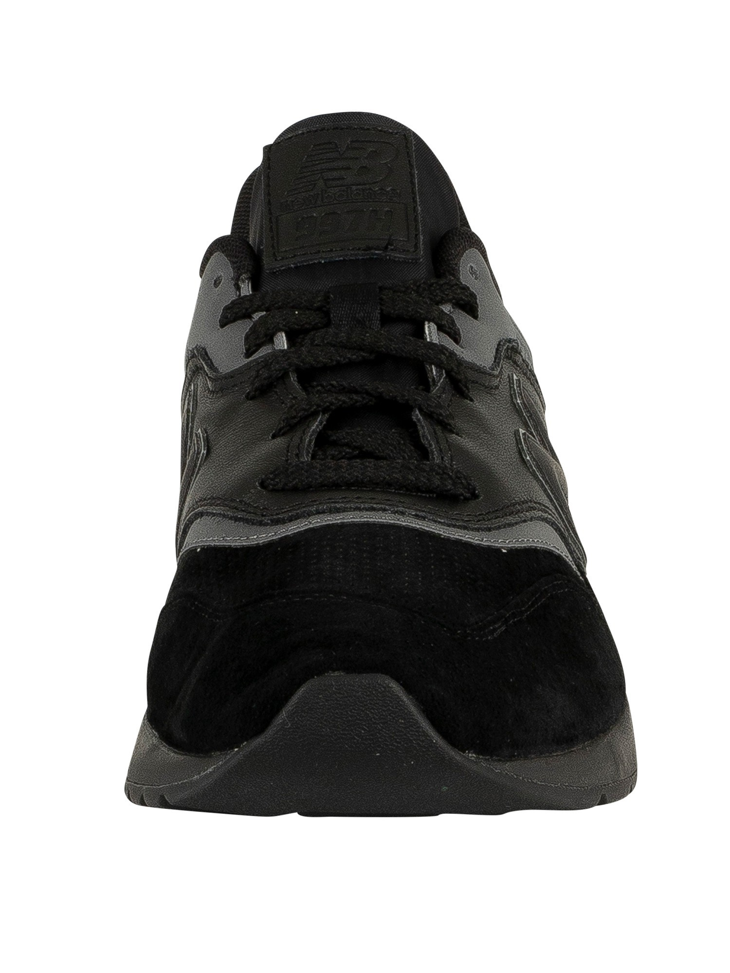 wholesale dealer 918b5 cf52e New Balance 997 Leather Trainers - Black/Castlerock