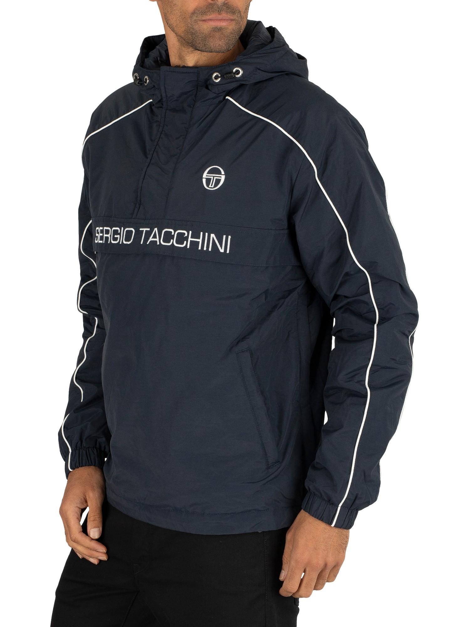 Sergio Tacchini Dabou Anorak Jacket NavyWhite