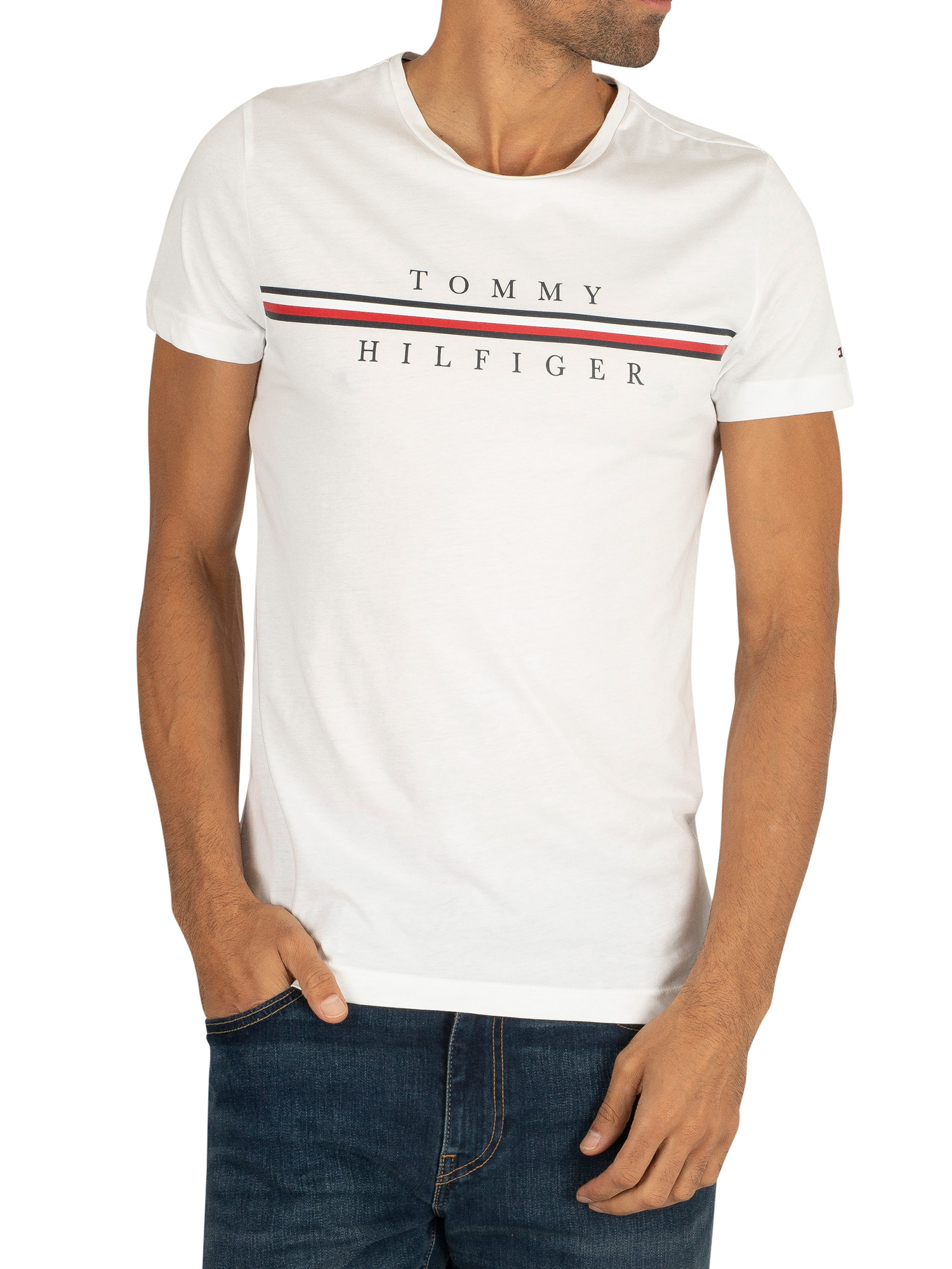 TOMMY HILFIGER sweat top uk size 2xl navy bnwt ref # box 43