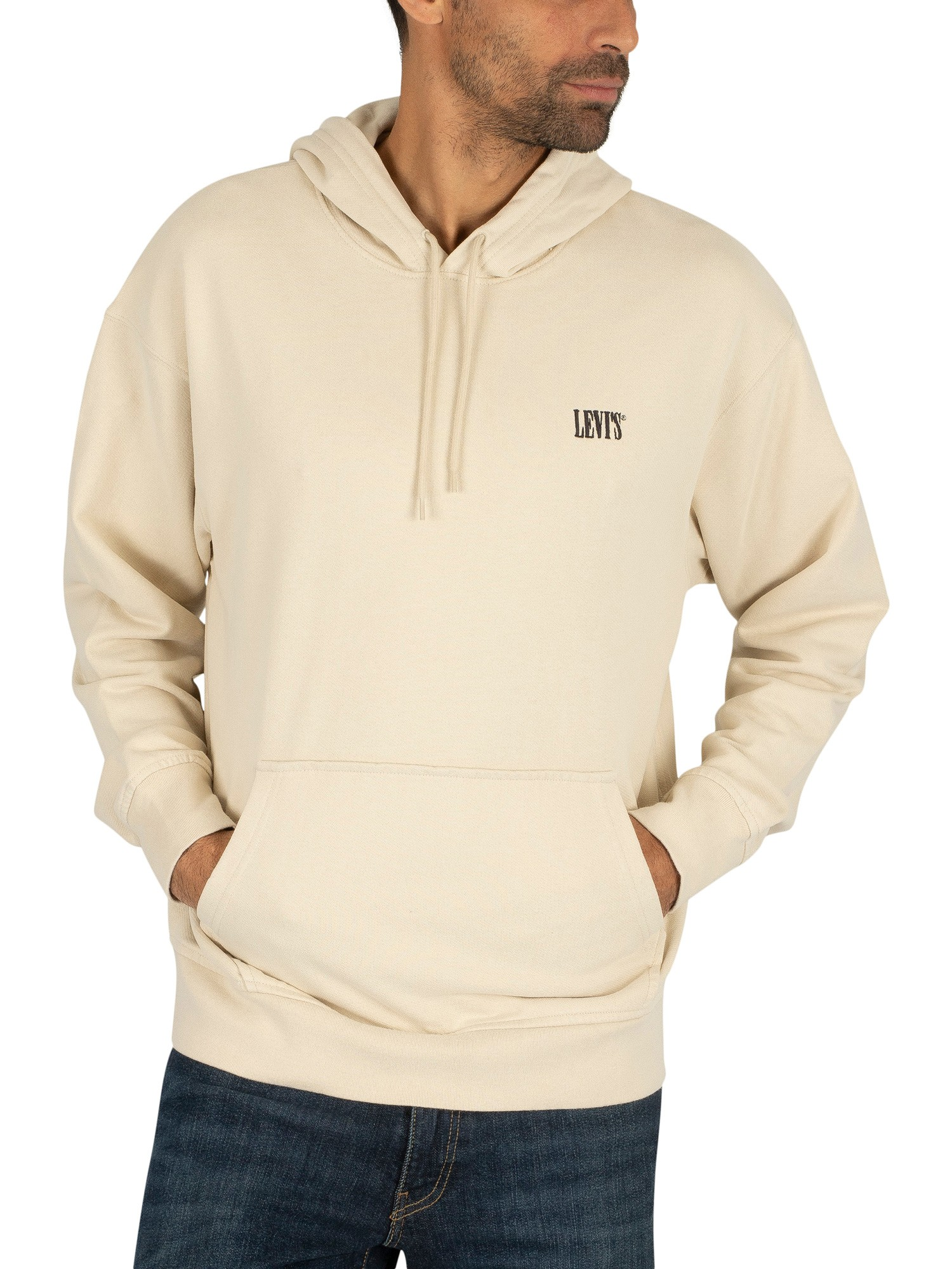 the best san francisco the sale of shoes Levi's Authentic Pullover Hoodie - Beige
