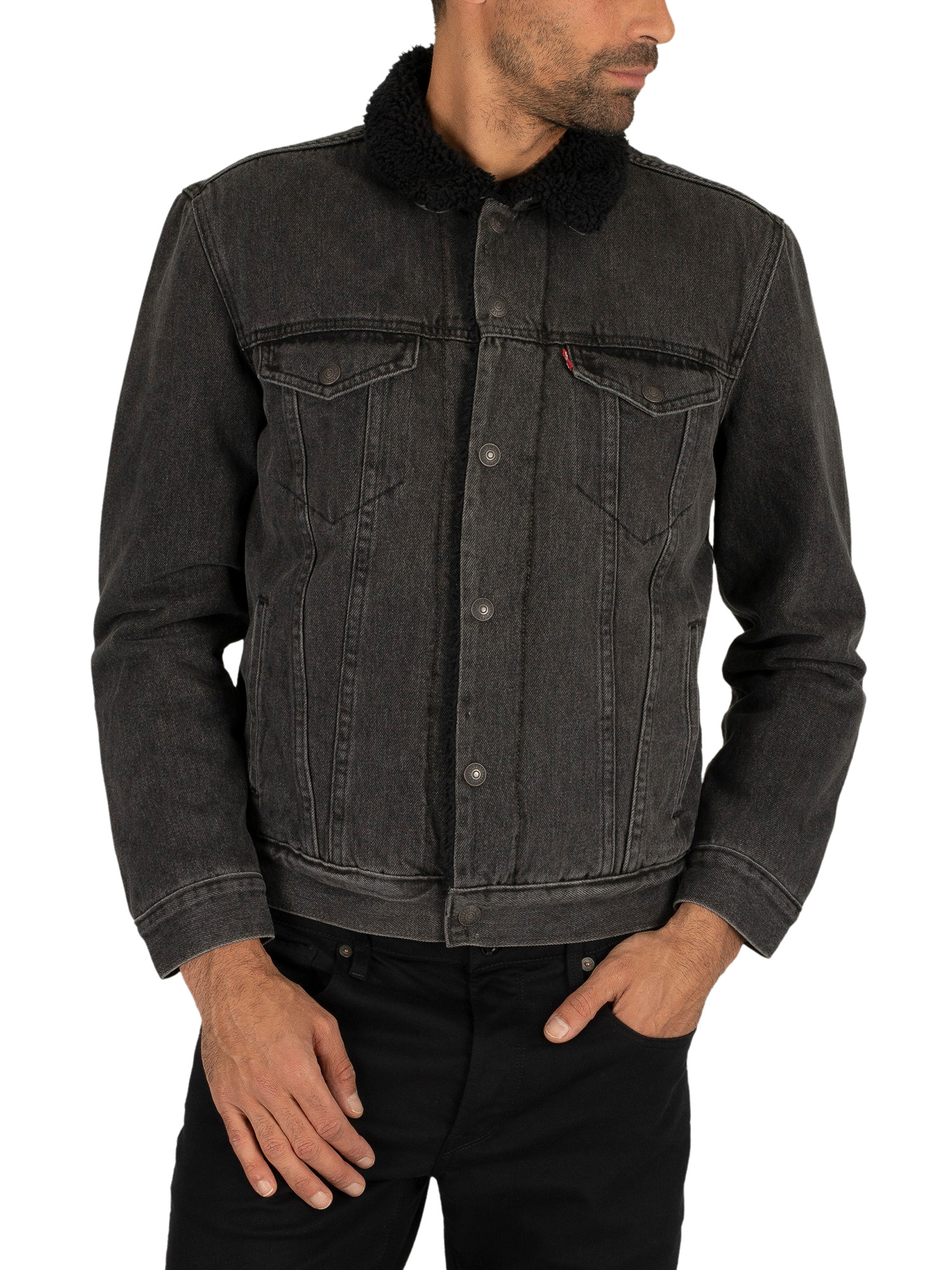 Levi's Type 3 Sherpa Trucker Jacket - Embossed Logo