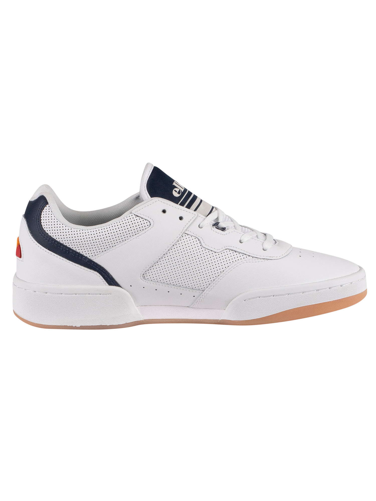 Ellesse Piacentino 2.0 Leather Trainers - White/Dark Blue
