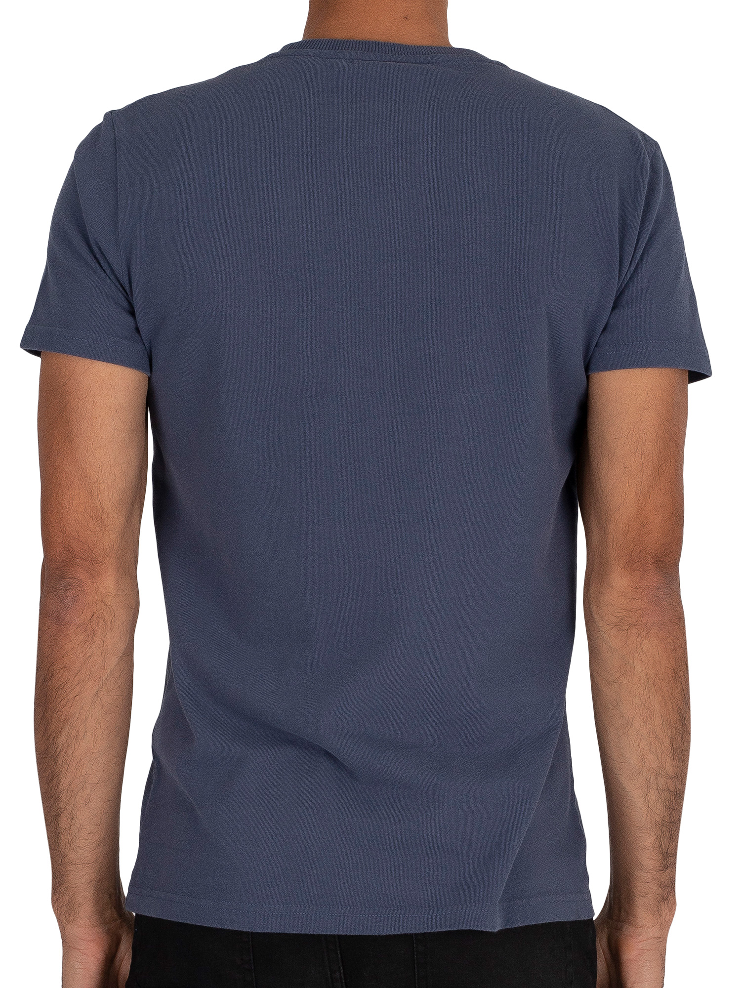Superdry Shirt Shop Bonded T-Shirt - Lauren Navy