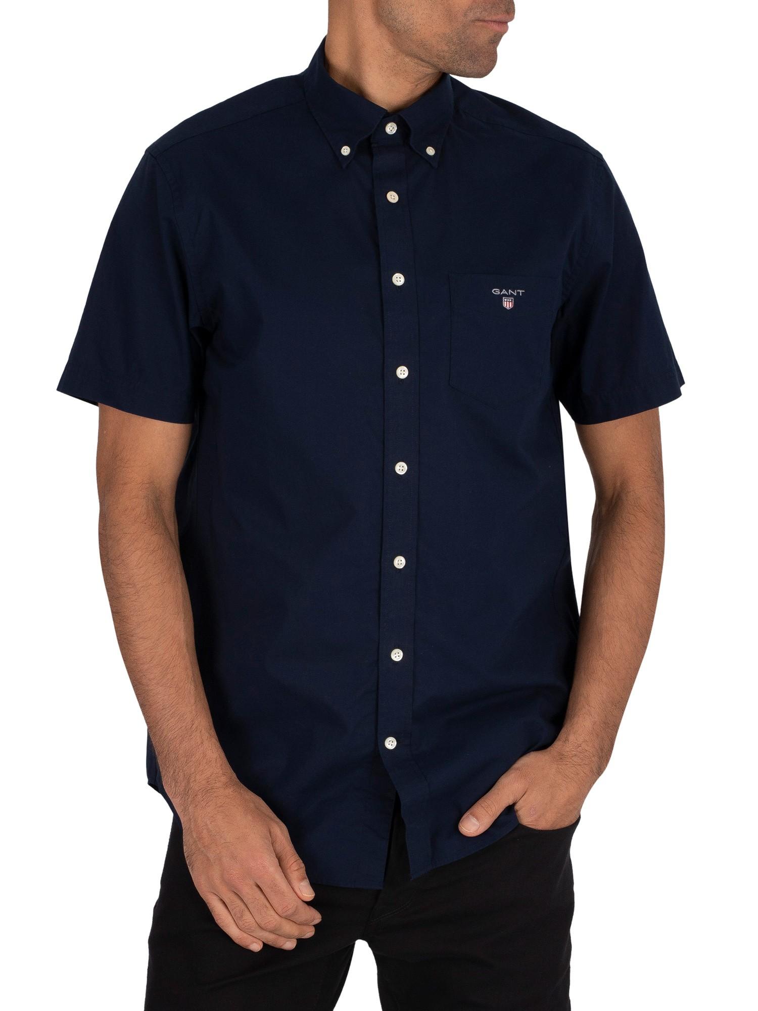 Broadcloth Short Sleeved Shirt