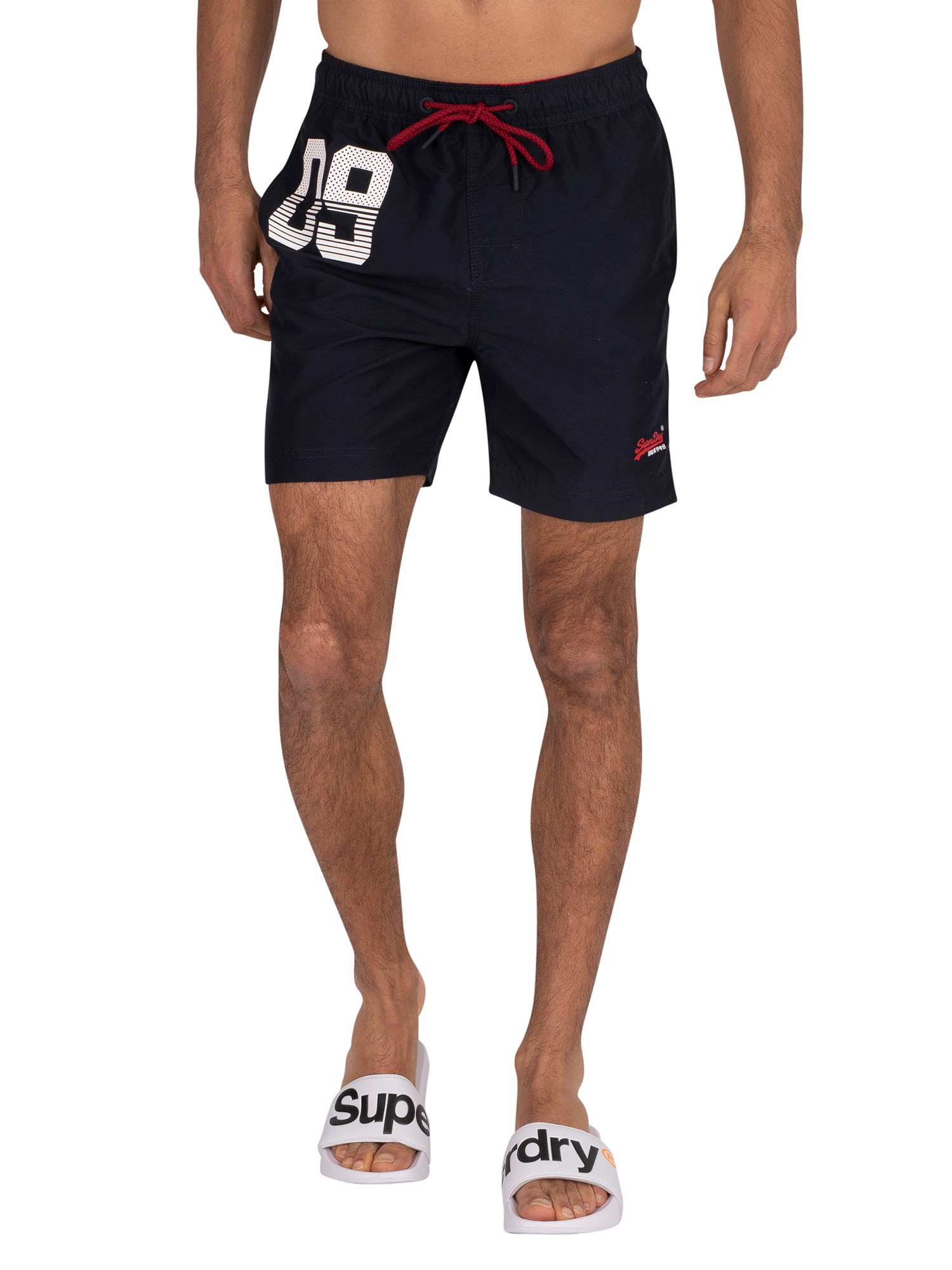 Superdry Swimshorts Water Polo Orange M30018AT VQH order