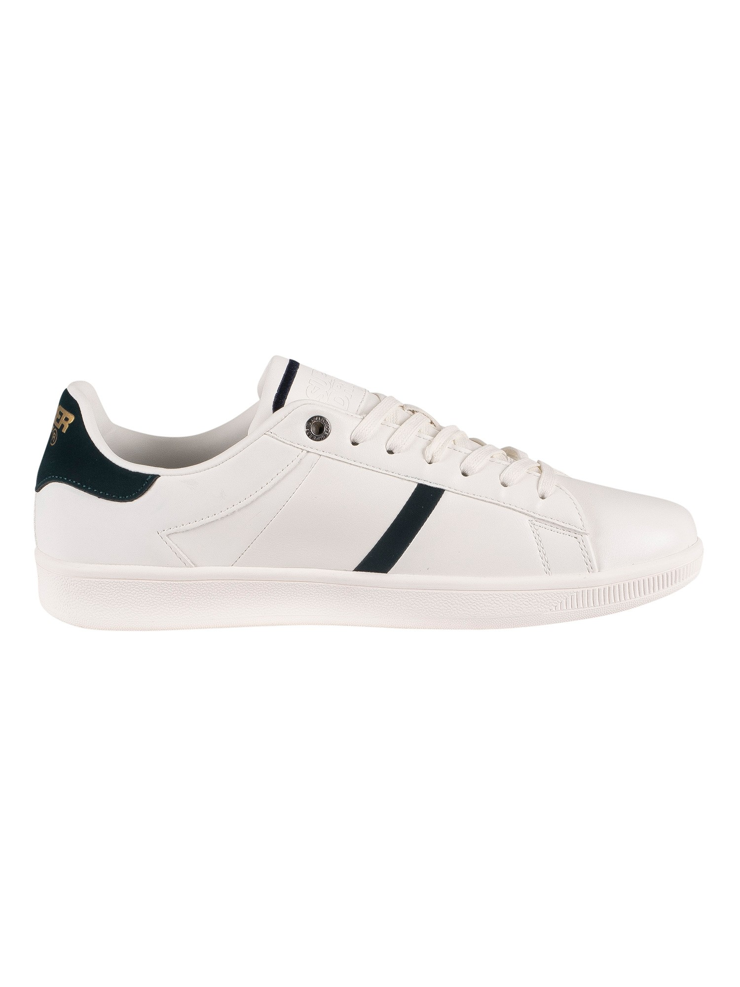 Superdry Sleek Tennis Core Trainers - Optic