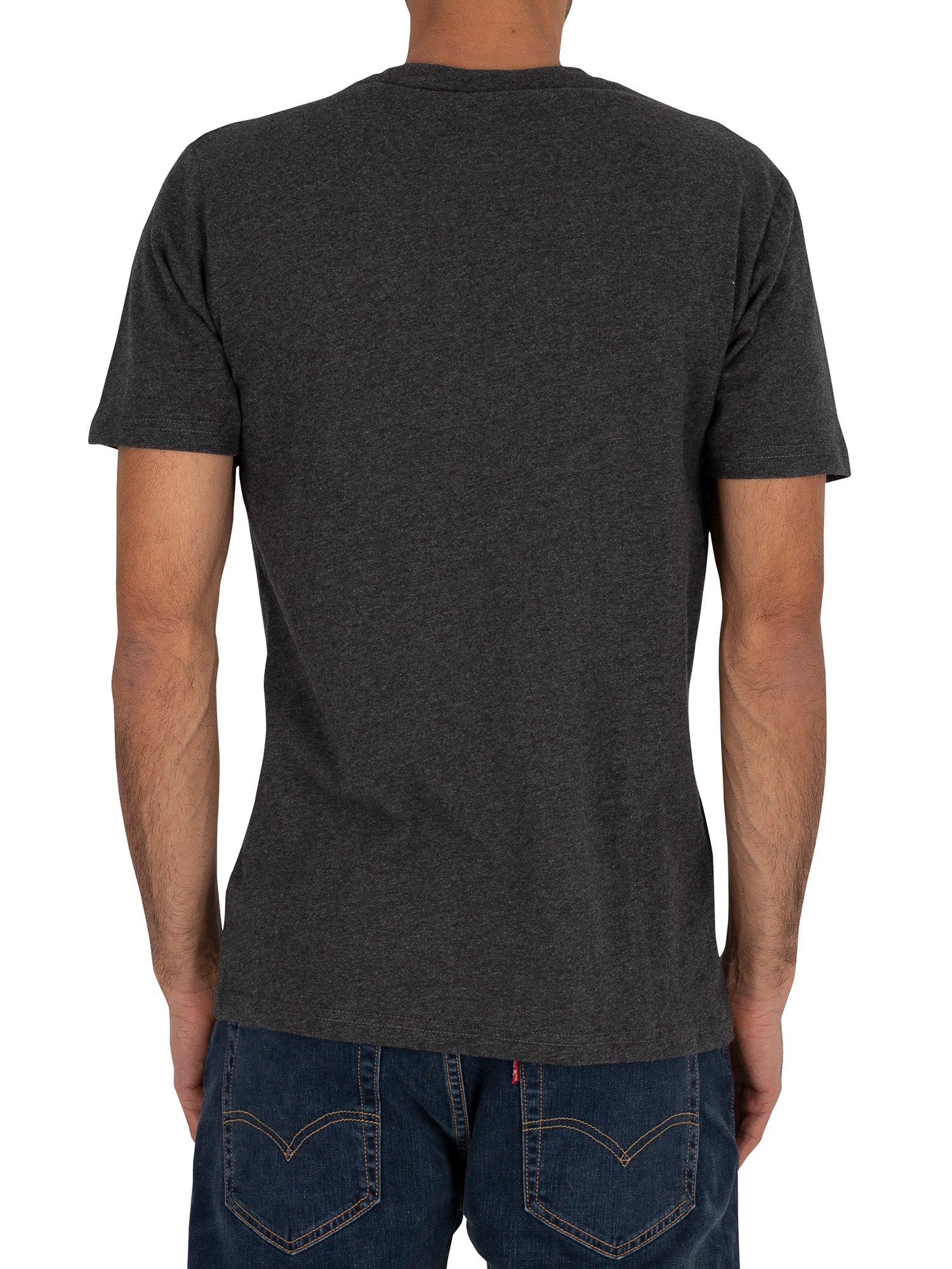 Ellesse Canaletto T-Shirt - Dark Grey Marl
