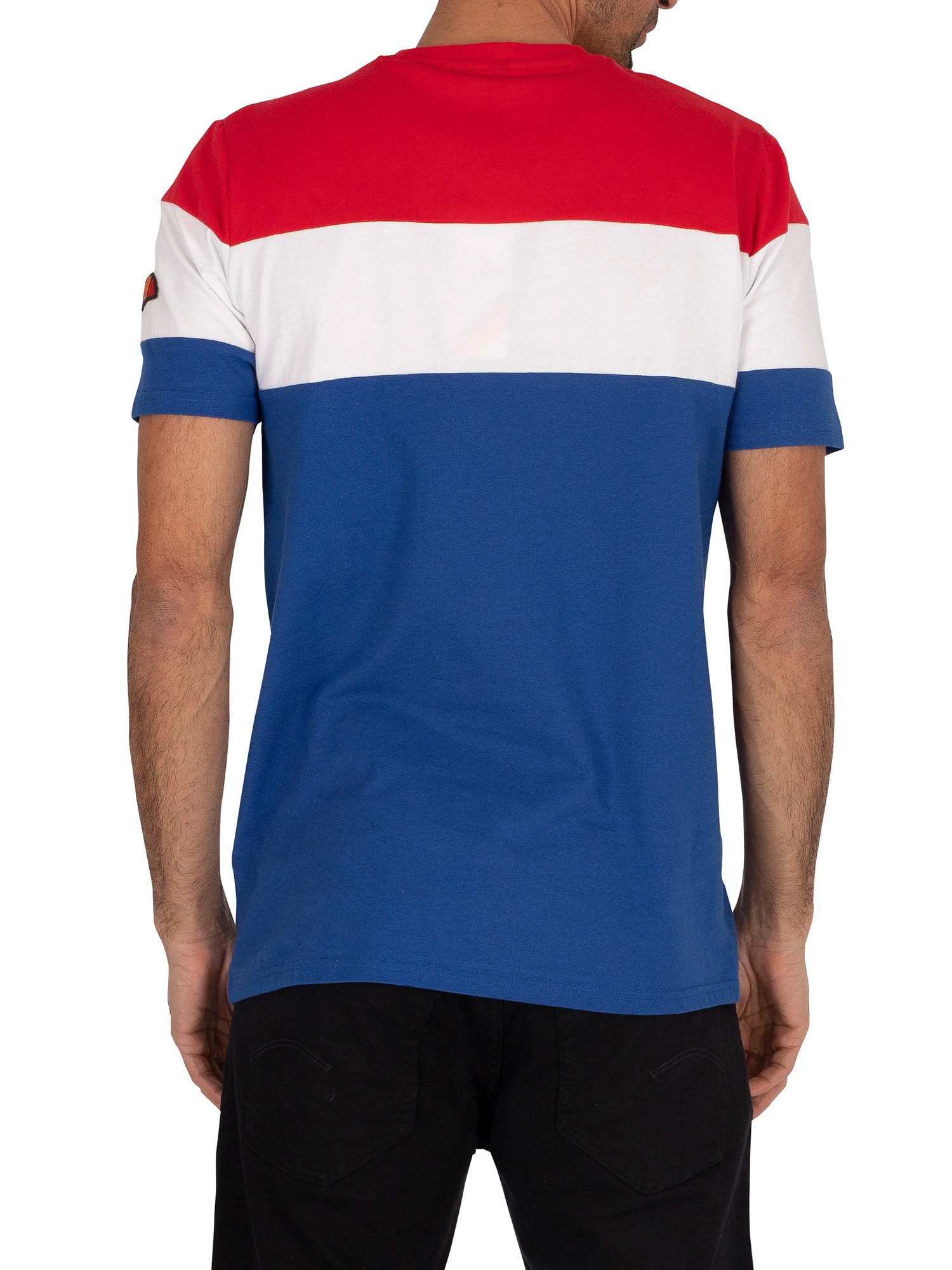 Ellesse Punto T-Shirt - Blue/Red