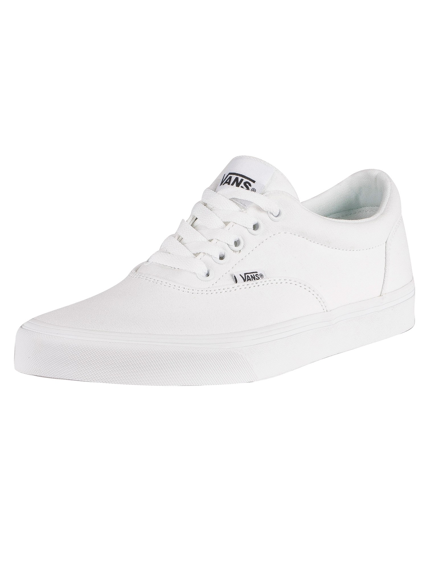 Doheny Canvas Trainers, White