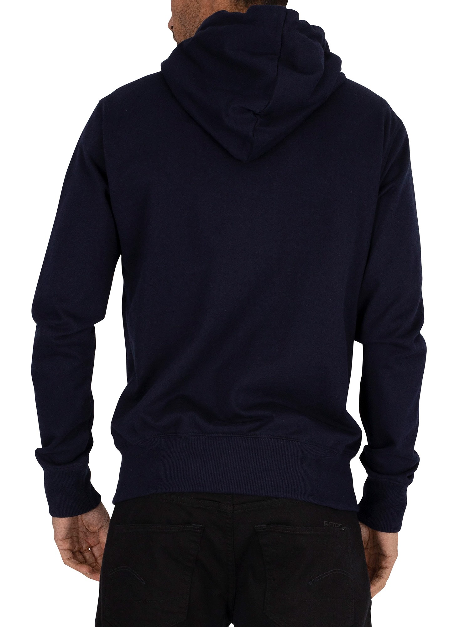 Superdry Collective Zip Hoodie - Rich Navy