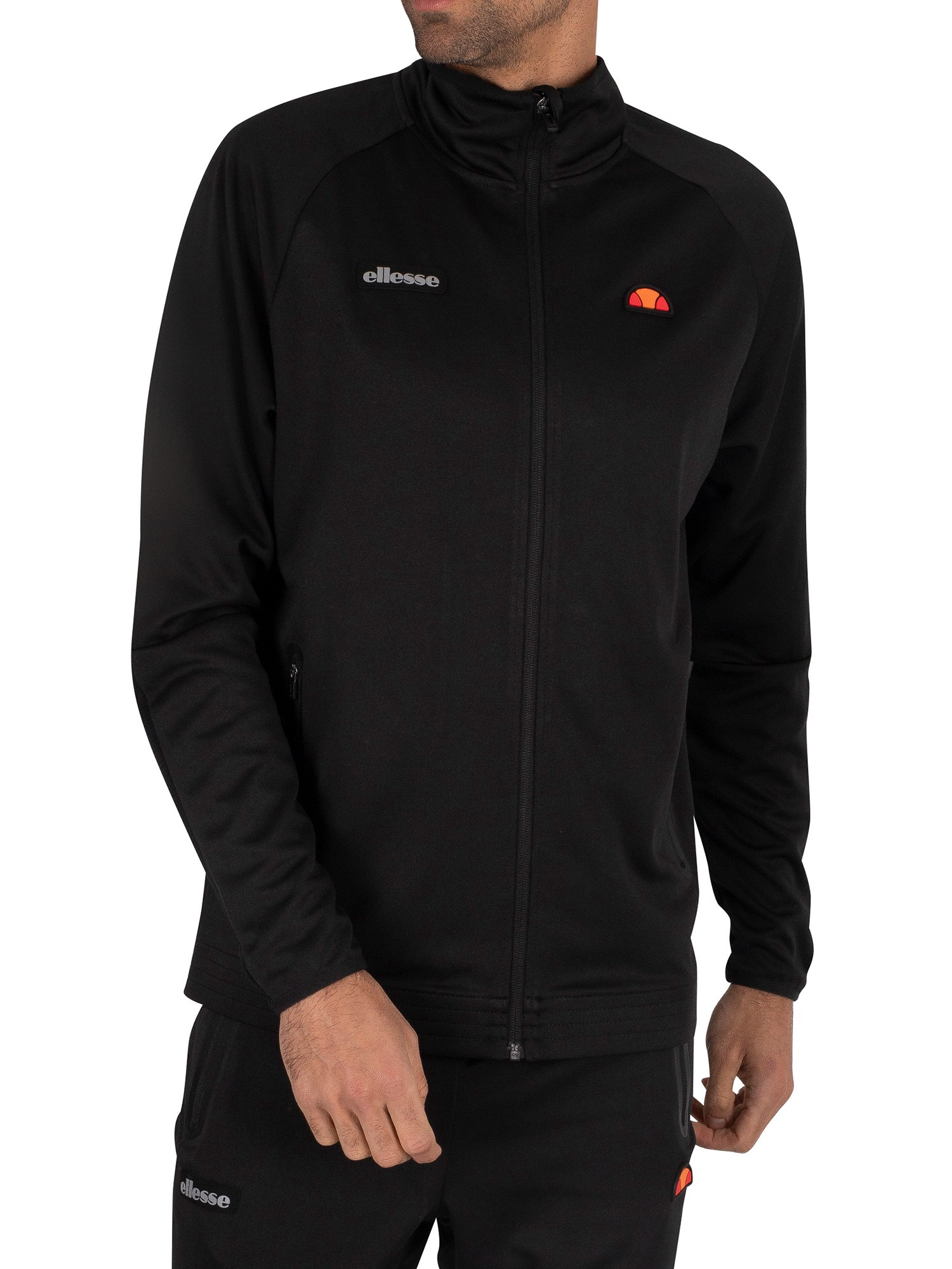 Ellesse Caldwelo Track  Top Jacket - Black