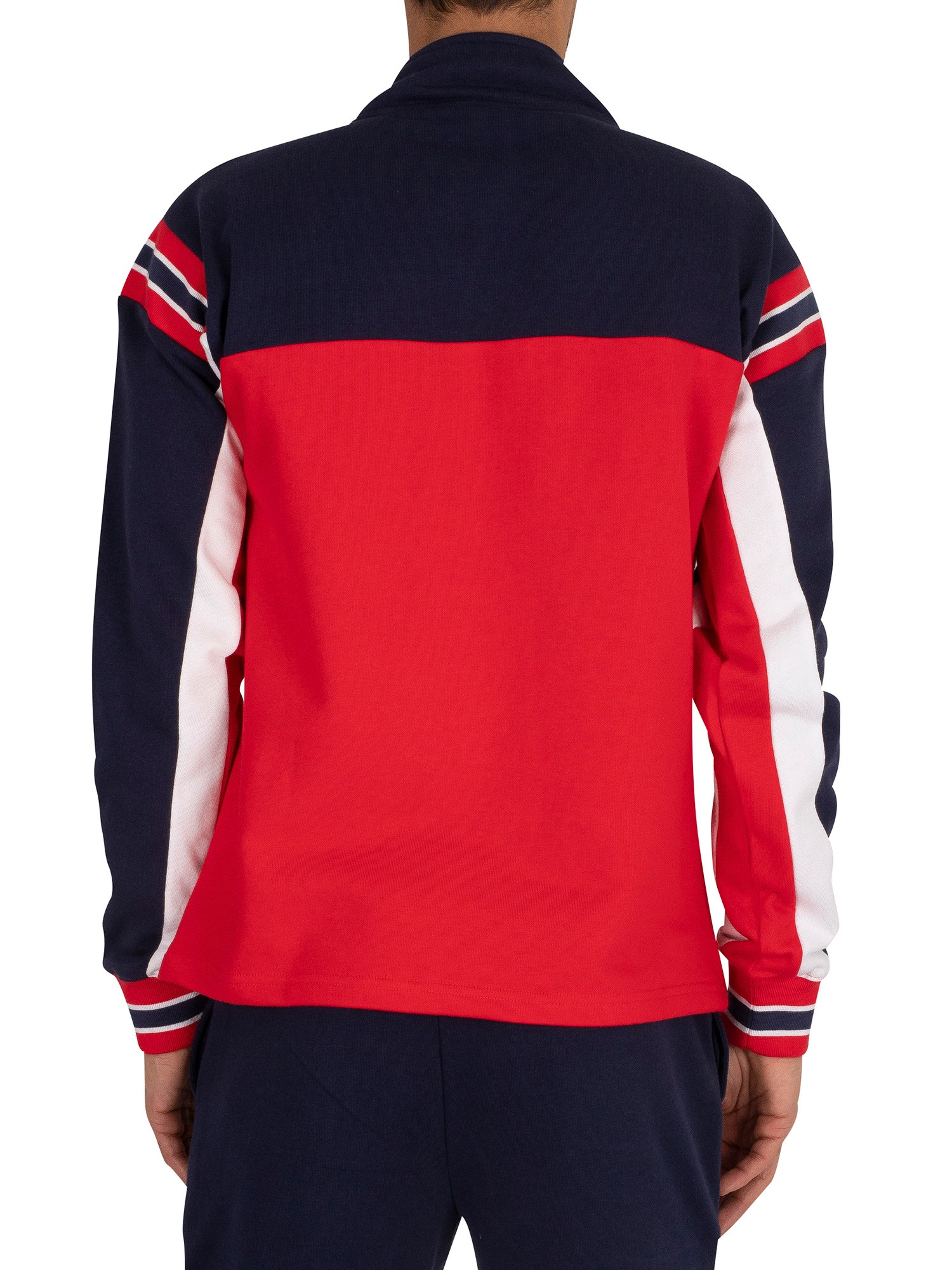 Fila Haakon Track Jacket - Red/Peacoat/White