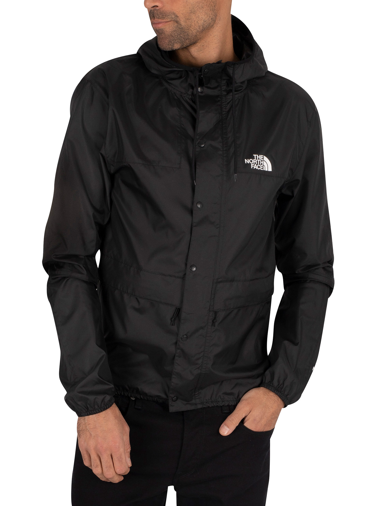 The North Face 1985 Mountain Jacket - Black/White