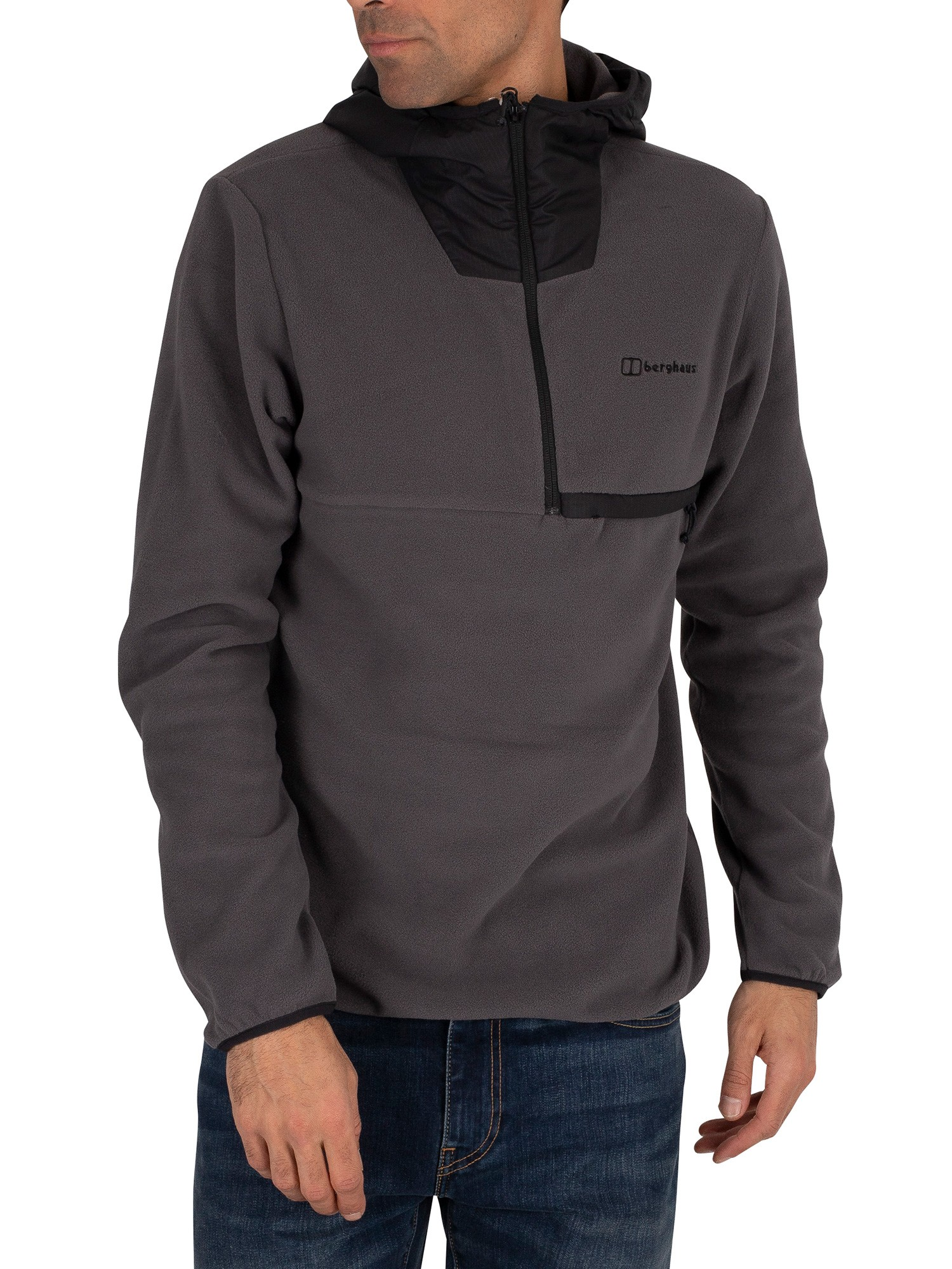 Berghaus Aslam Hooded Jacket - Grey/Black