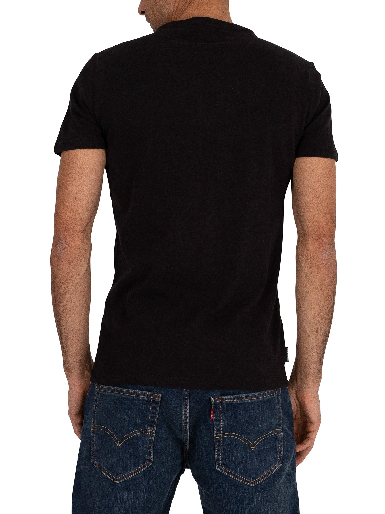 Superdry Core Logo Tag T-Shirt - Black