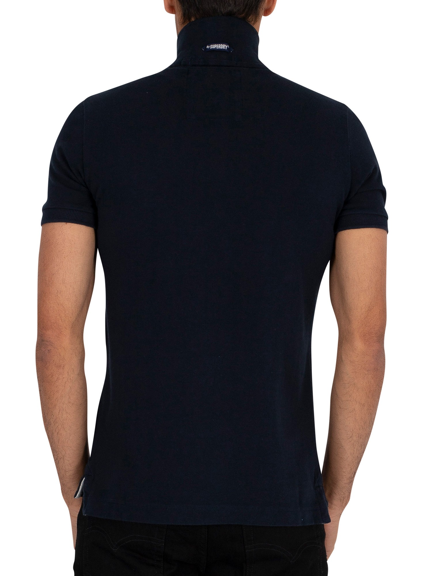 Superdry Classic Pique Polo Shirt - Eclipse Navy