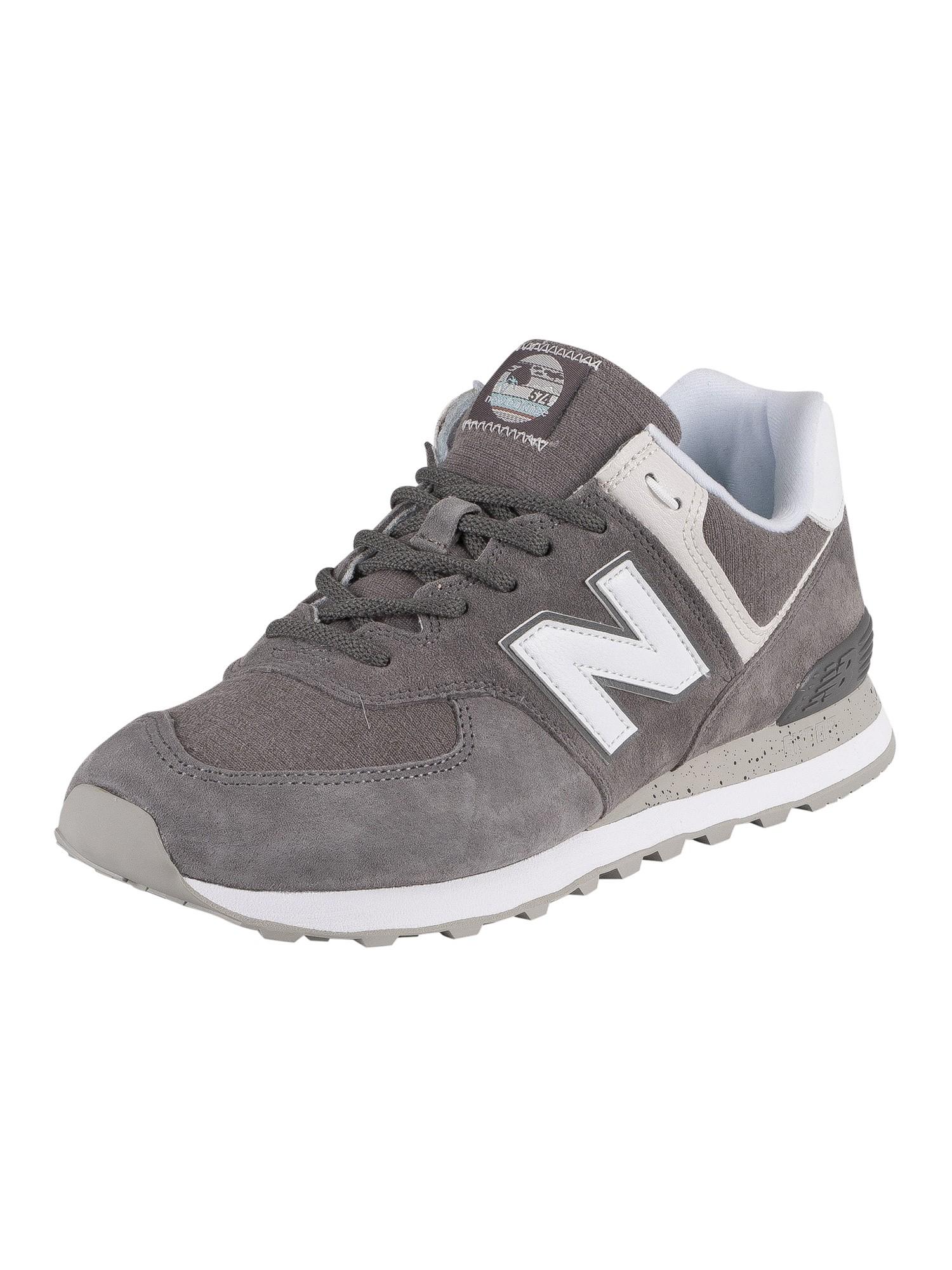 new balance 574 suede grey